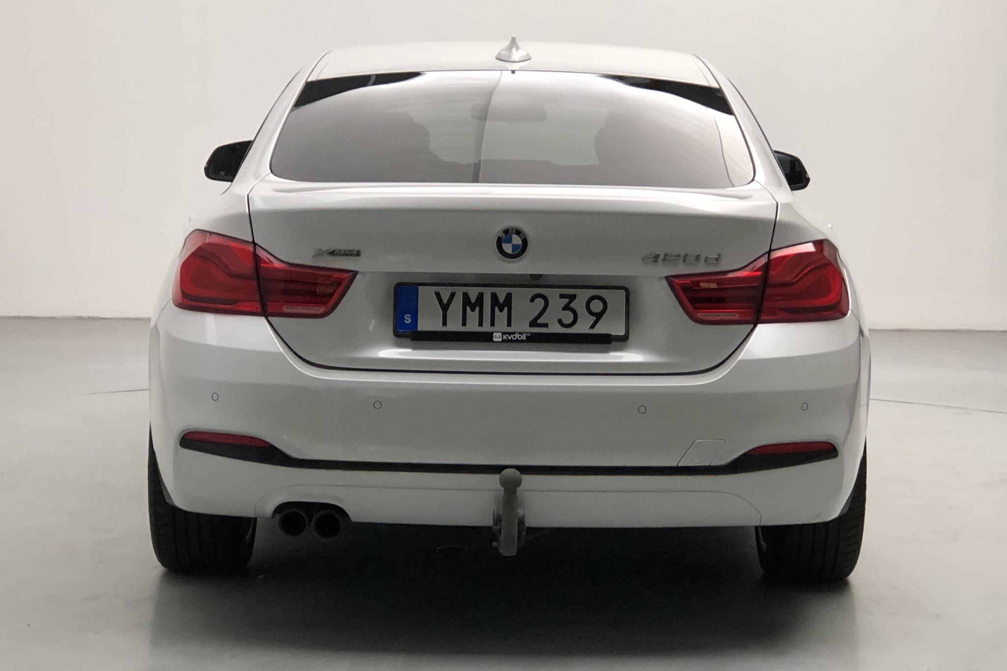BMW 420d xDrive Gran Coupé, F36 (190hk) - 9 155 mil - Automat - vit - 2018