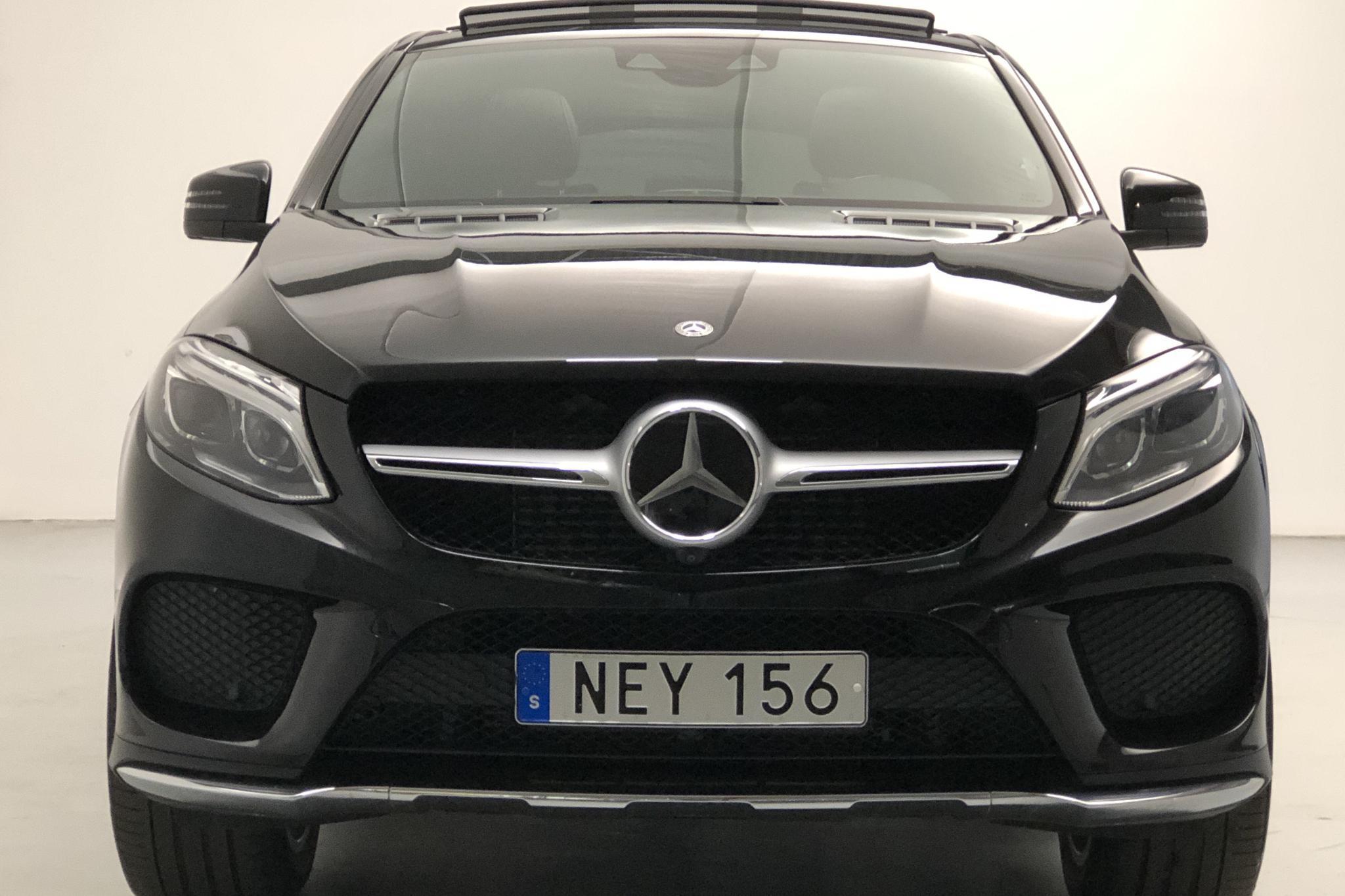 Mercedes GLE 350 d 4MATIC Coupé C292 (258hk) - 4 652 mil - Automat - svart - 2019
