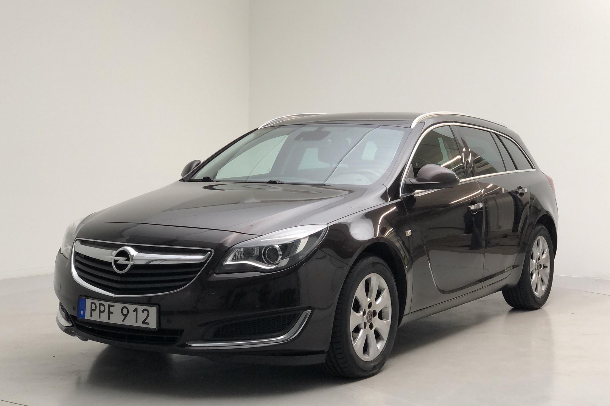 Opel Insignia 1.6 CDTI ecoFLEX Sports Tourer (136hk) - 83 060 km - Automatic - brown - 2016