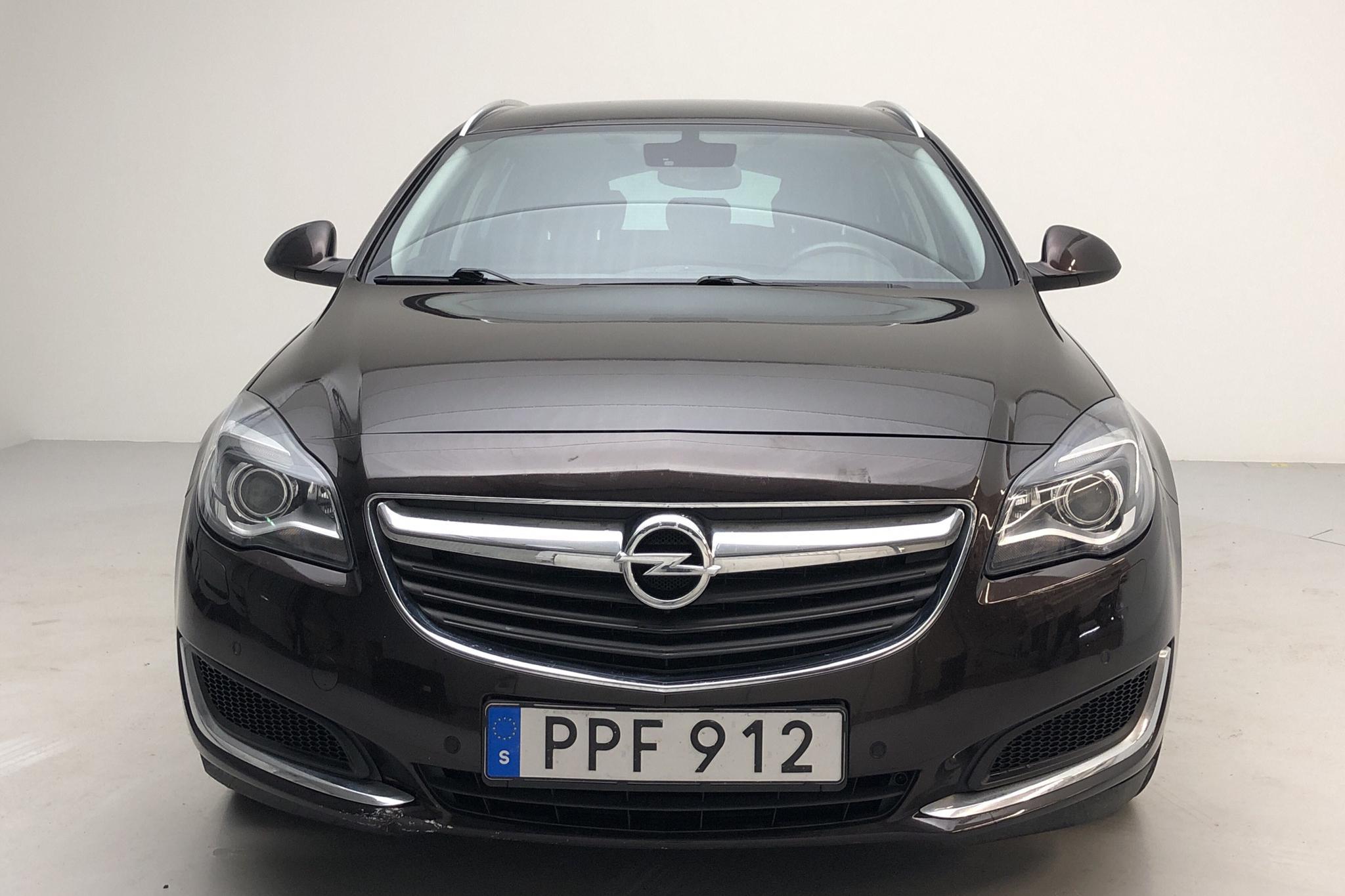 Opel Insignia 1.6 CDTI ecoFLEX Sports Tourer (136hk) - 8 306 mil - Automat - brun - 2016