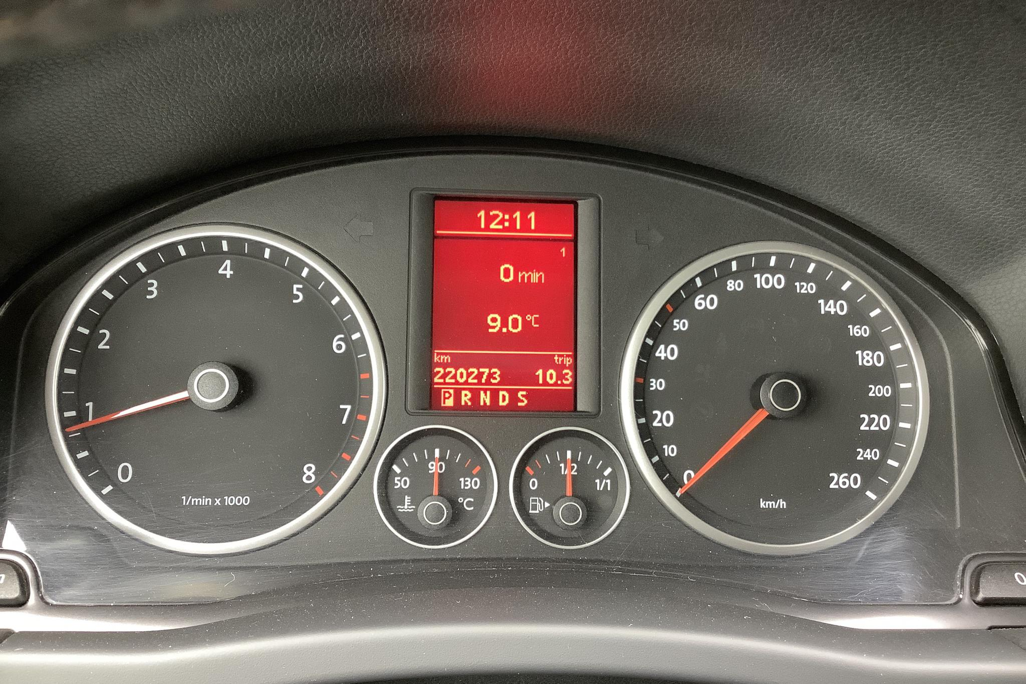 VW Tiguan 2.0 TSI (200hk) - 22 027 mil - Automat - vit - 2009