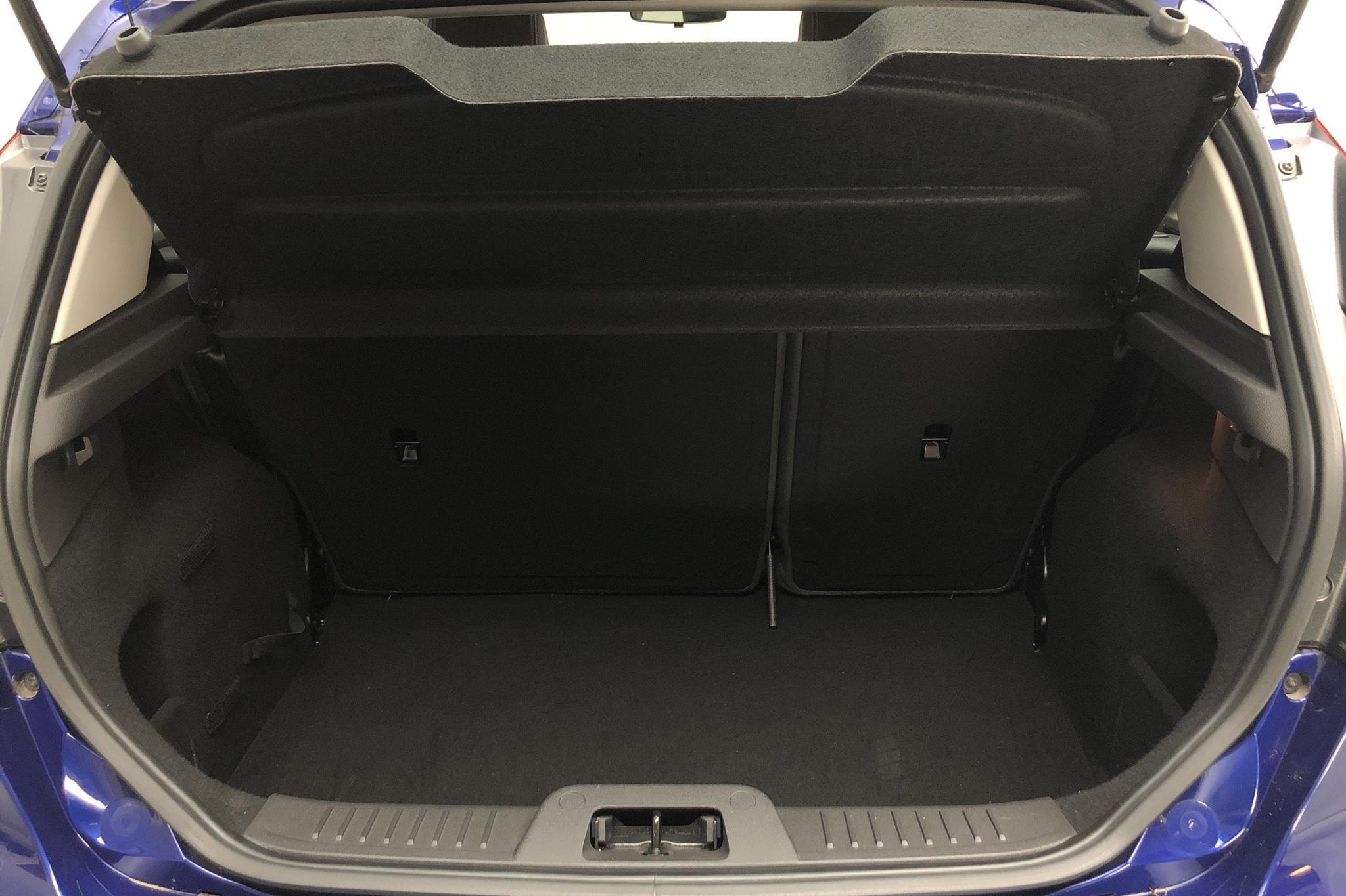 Ford Fiesta 1.0 5dr (80hk) - 3 853 mil - Manuell - blå - 2015