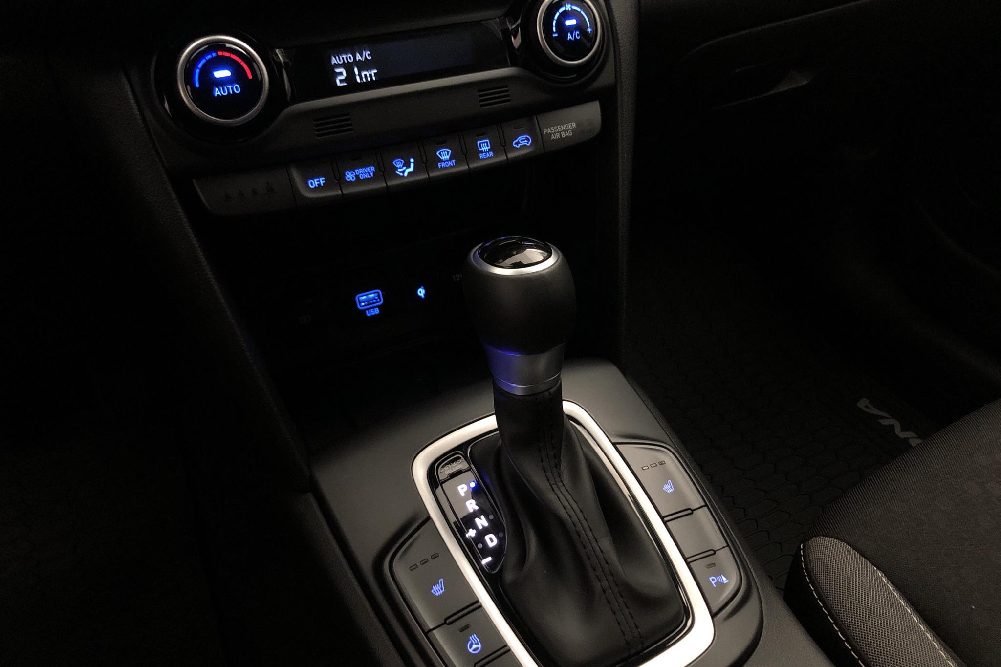 Hyundai Kona 1.6 GDI Hybrid (141hk) - 1 479 mil - Automat - vit - 2020