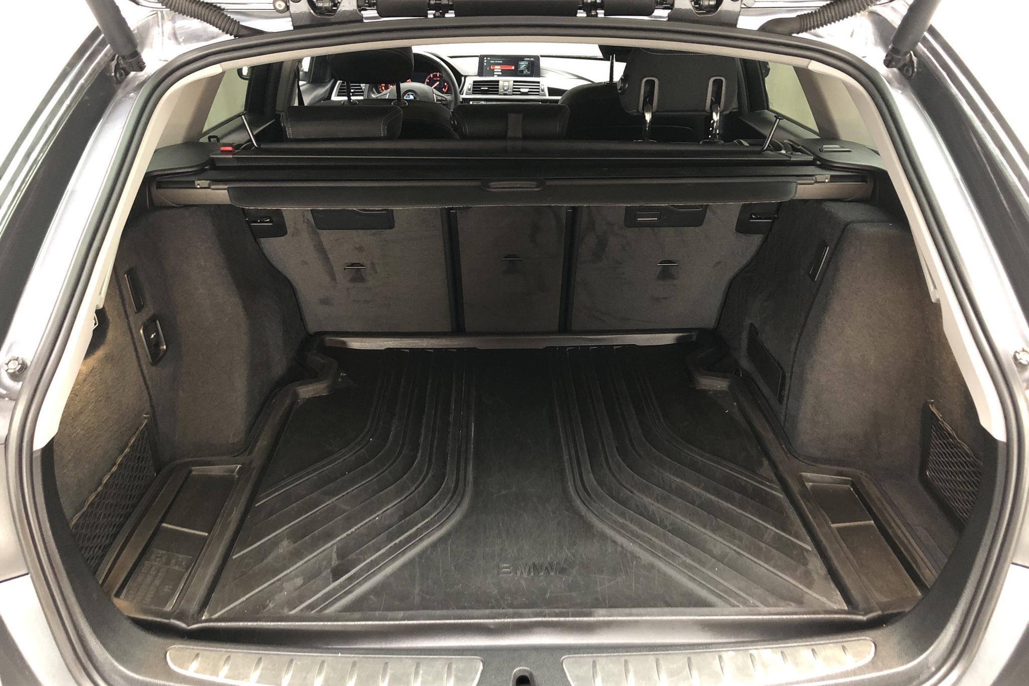 BMW 320d Touring, F31 (190hk) - 5 907 mil - Automat - grå - 2018