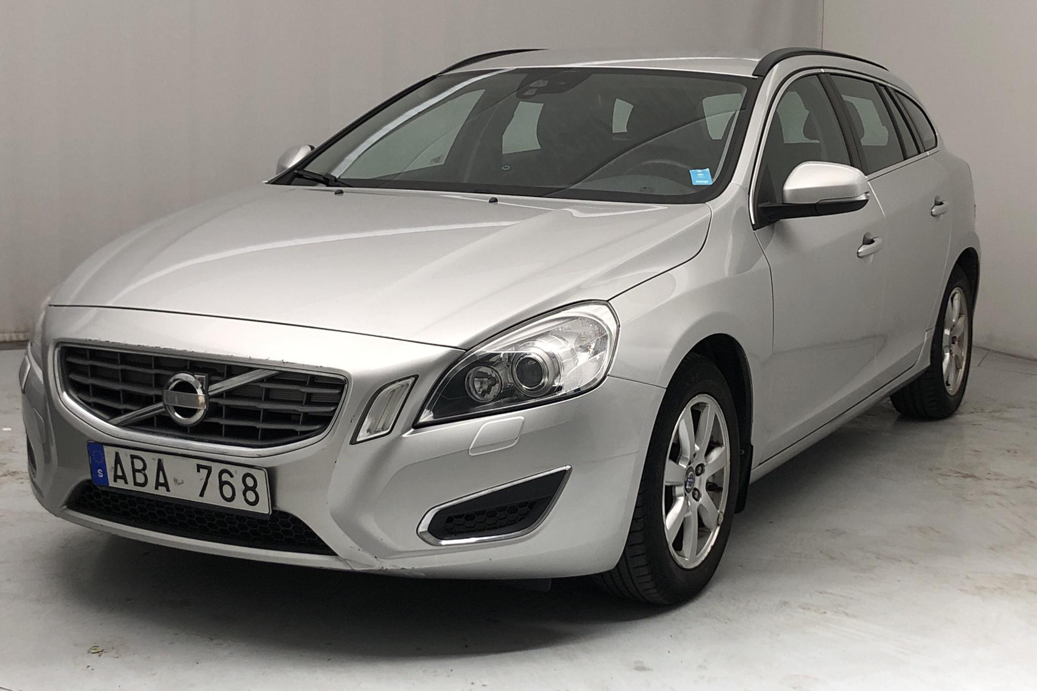 Volvo V60 1.6D DRIVe (115hk) - 16 123 mil - Manuell - Light Grey - 2012