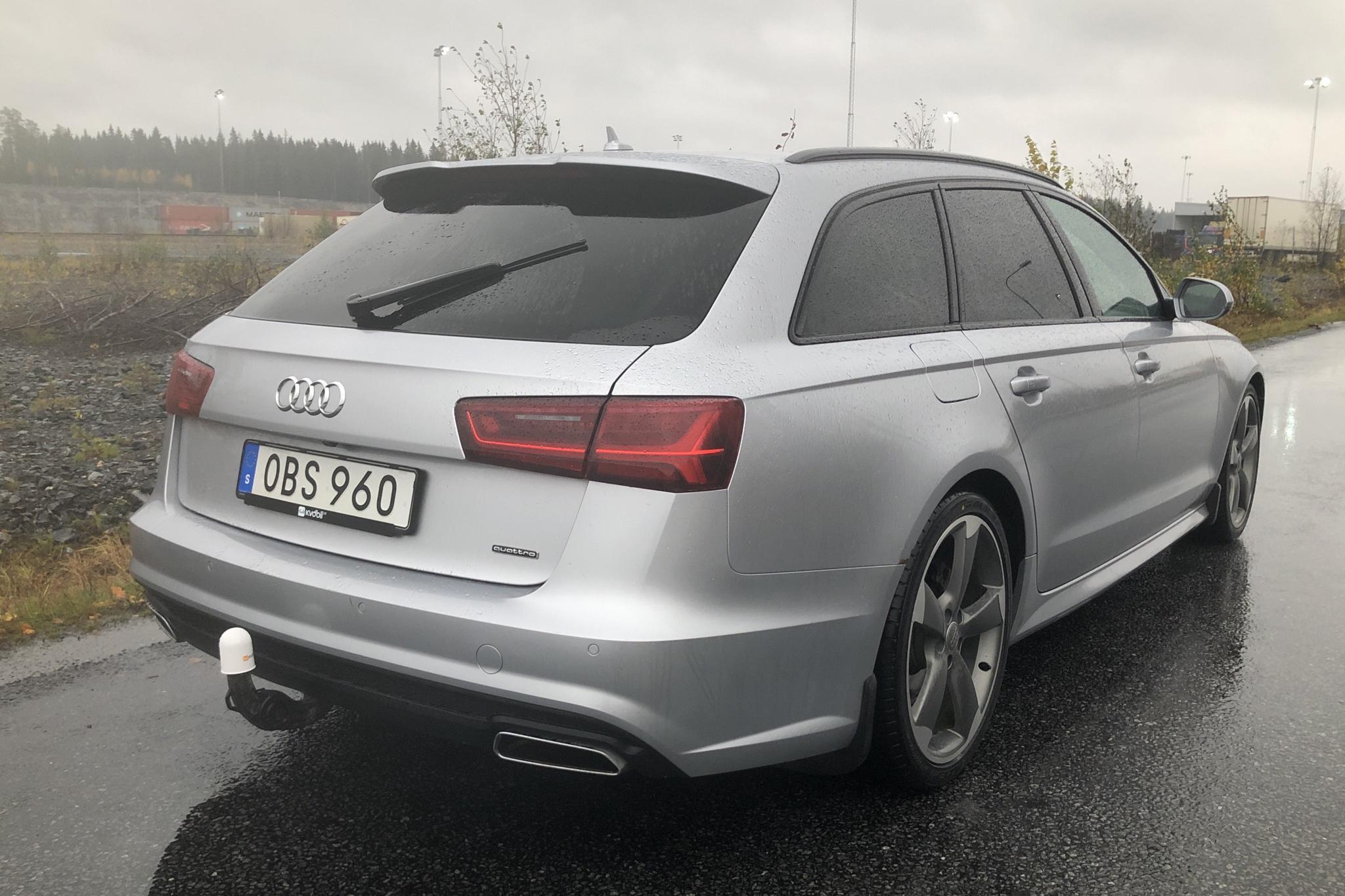 Audi A6 2.0 TDI Avant quattro (190hk) - 139 520 km - Automatic - silver - 2016