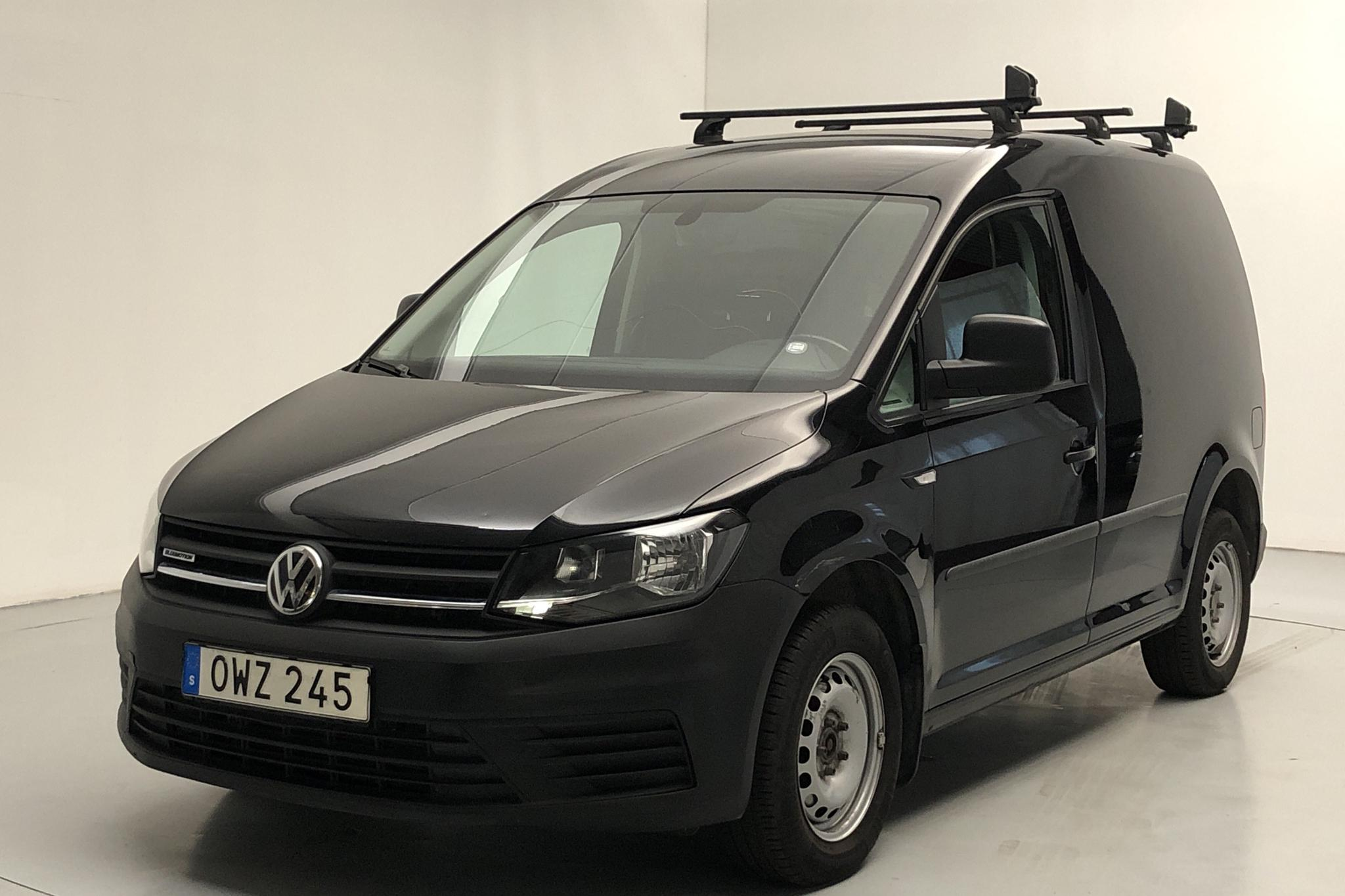VW Caddy 1.4 TGI Skåp (110hk) - 5 333 mil - Manuell - svart - 2017