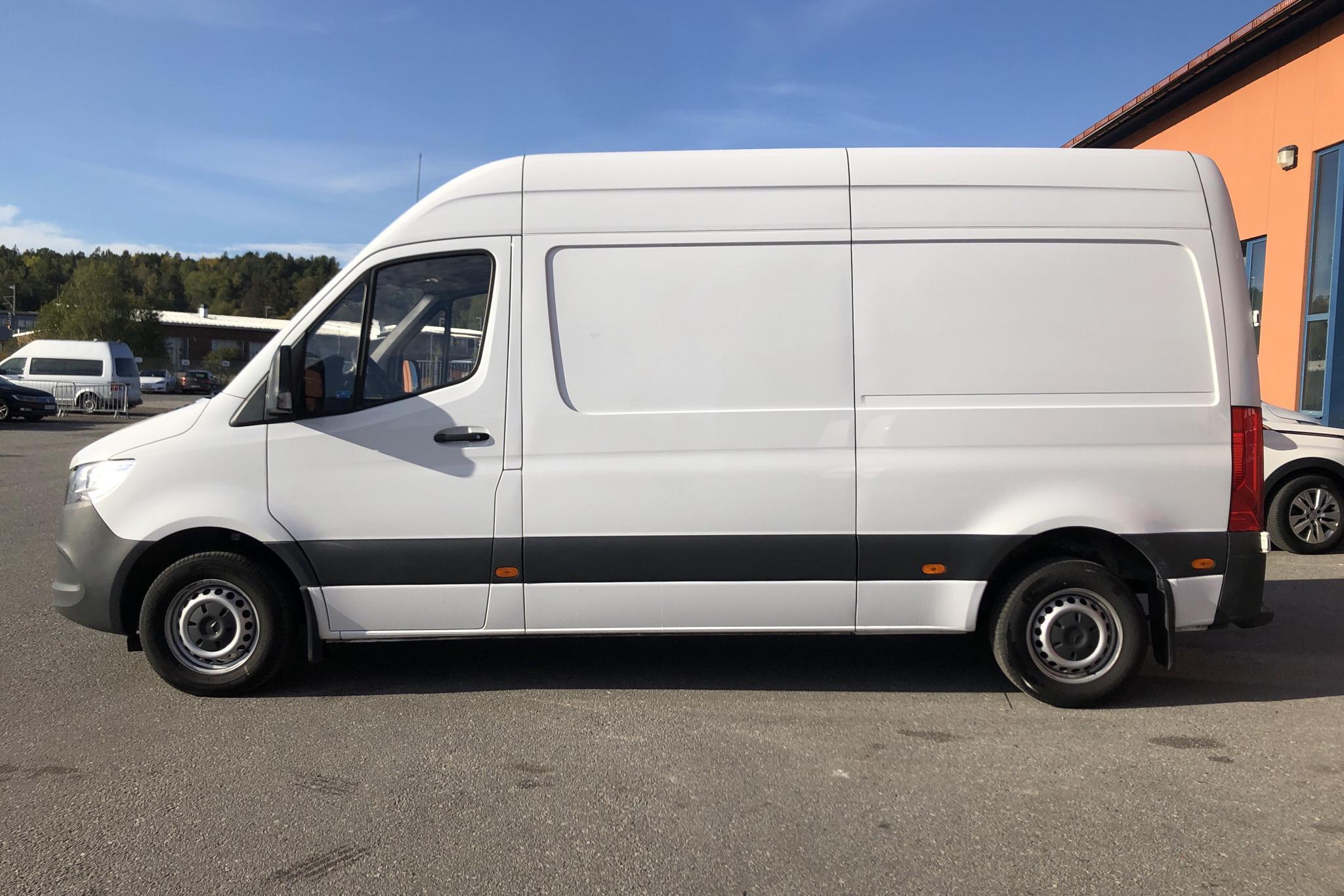 Mercedes Sprinter 314 CDI Skåp 2WD (143hk) - 53 530 km - Automatic - white - 2019