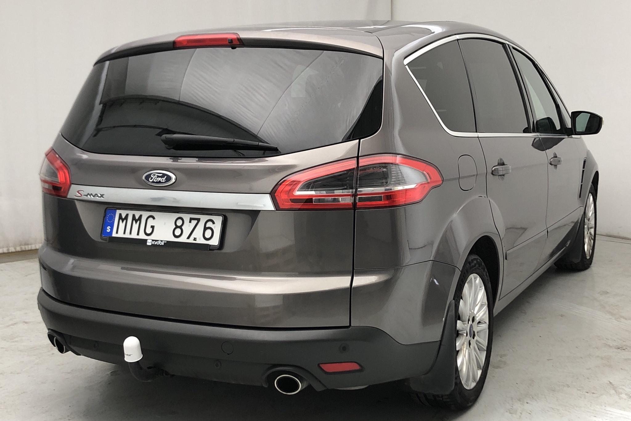 Ford S-MAX 2.2 Duratorq TDCi (200hk) - 13 006 mil - Manuell - brun - 2011