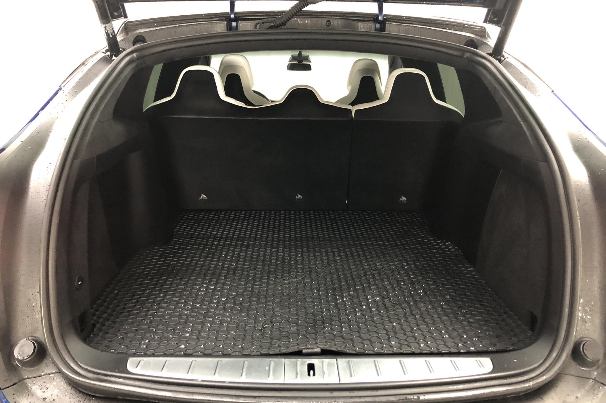 Tesla Model X 75D - 63 800 km - Automatic - blue - 2018