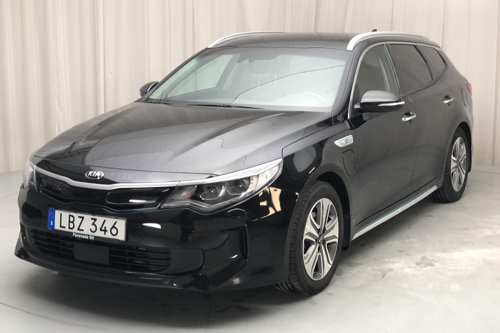 KIA Optima 2.0 GDi Plug-in Hybrid SW (205hk) - 4 943 mil - Automat - svart - 2018