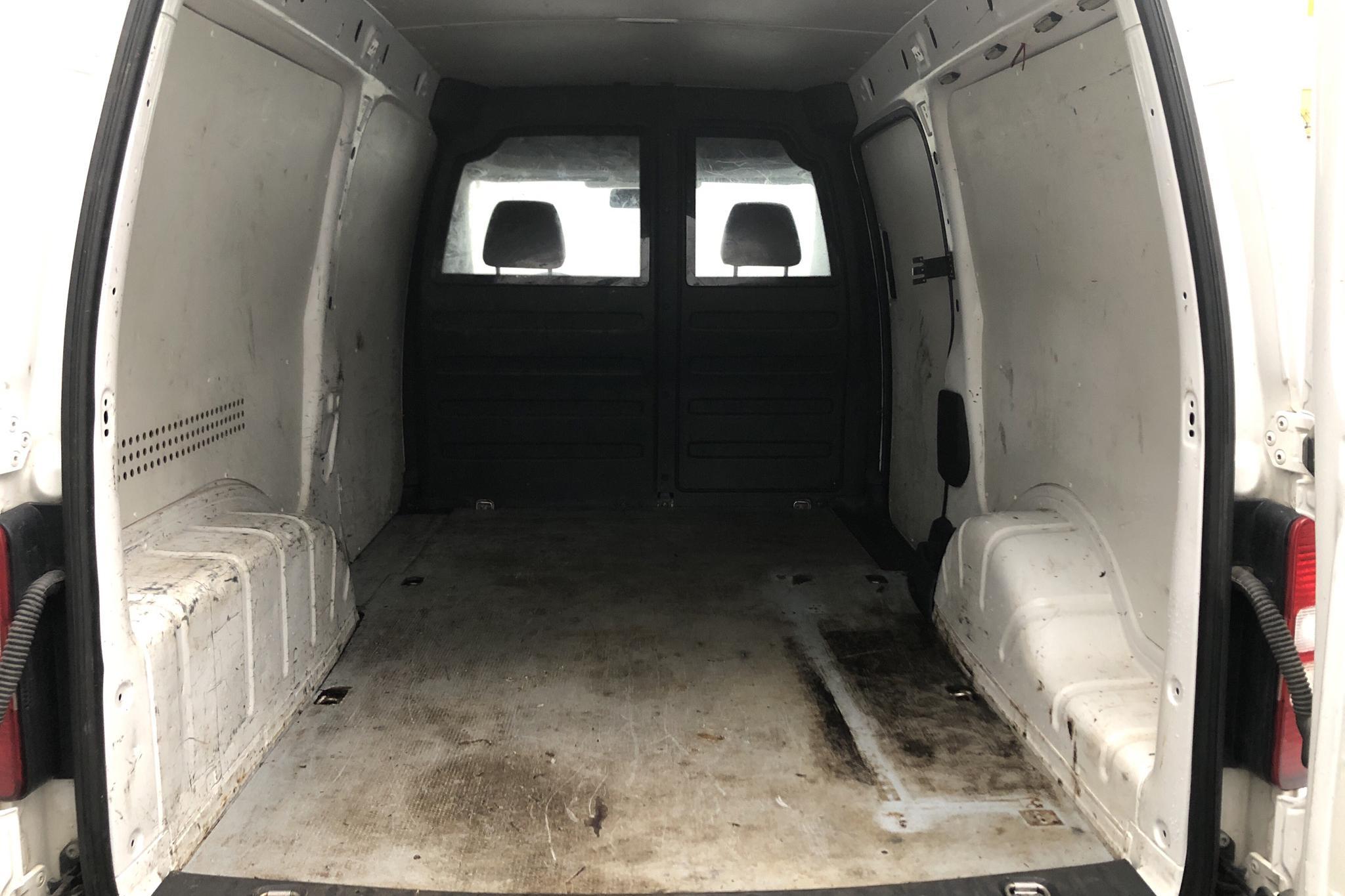 VW Caddy 1.6 TDI Maxi Skåp (102hk) - 19 114 mil - Manuell - vit - 2013
