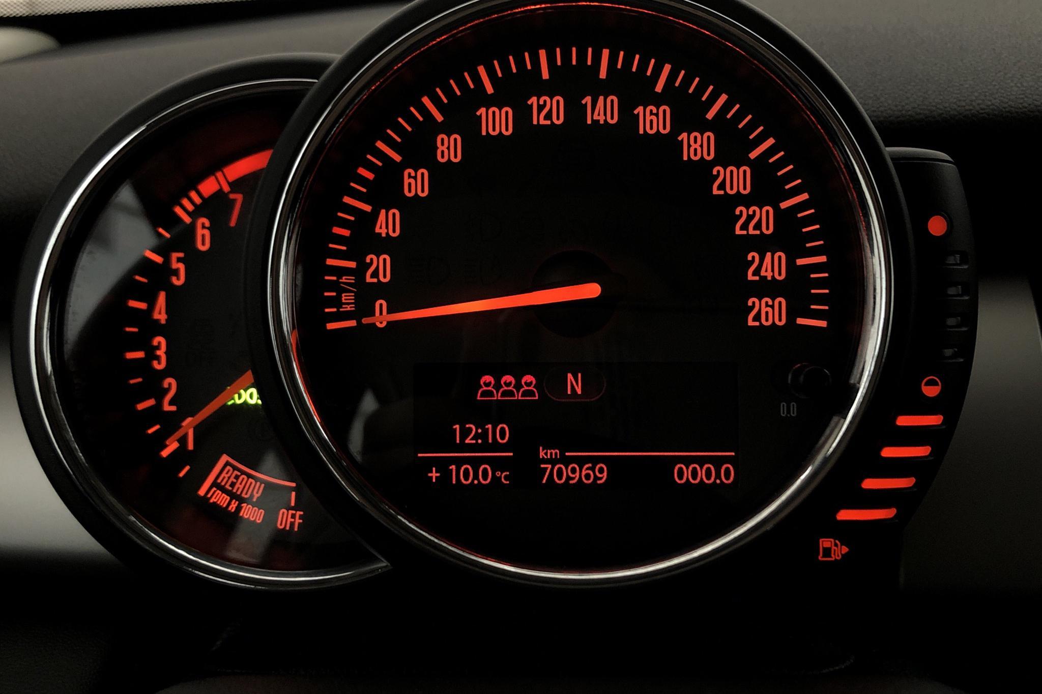 MINI One Hatch 5dr (102hk) - 7 097 mil - Manuell - blå - 2017
