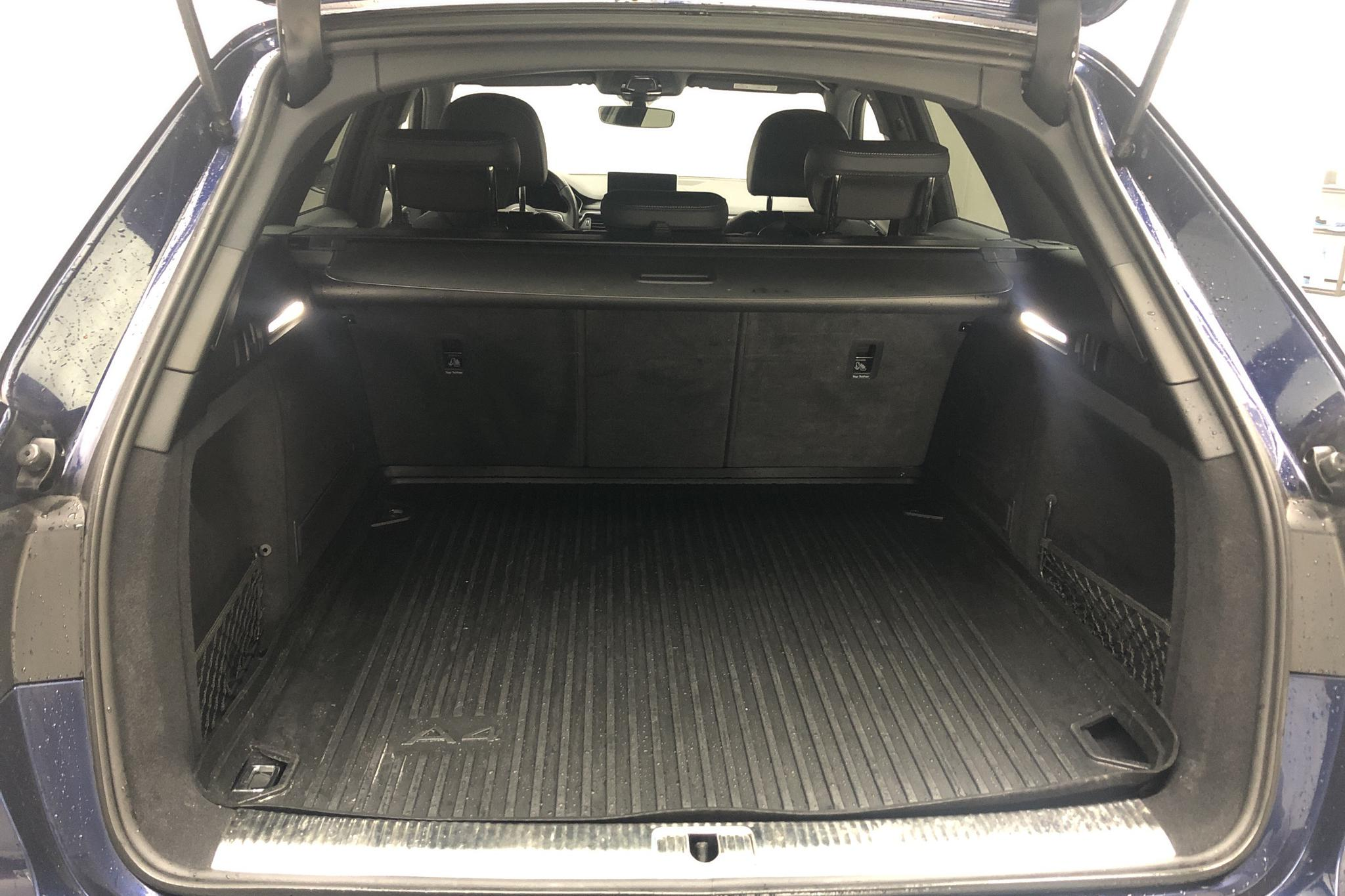 Audi S4 3.0 TFSI Avant quattro (354hk) - 7 928 mil - Automat - blå - 2018