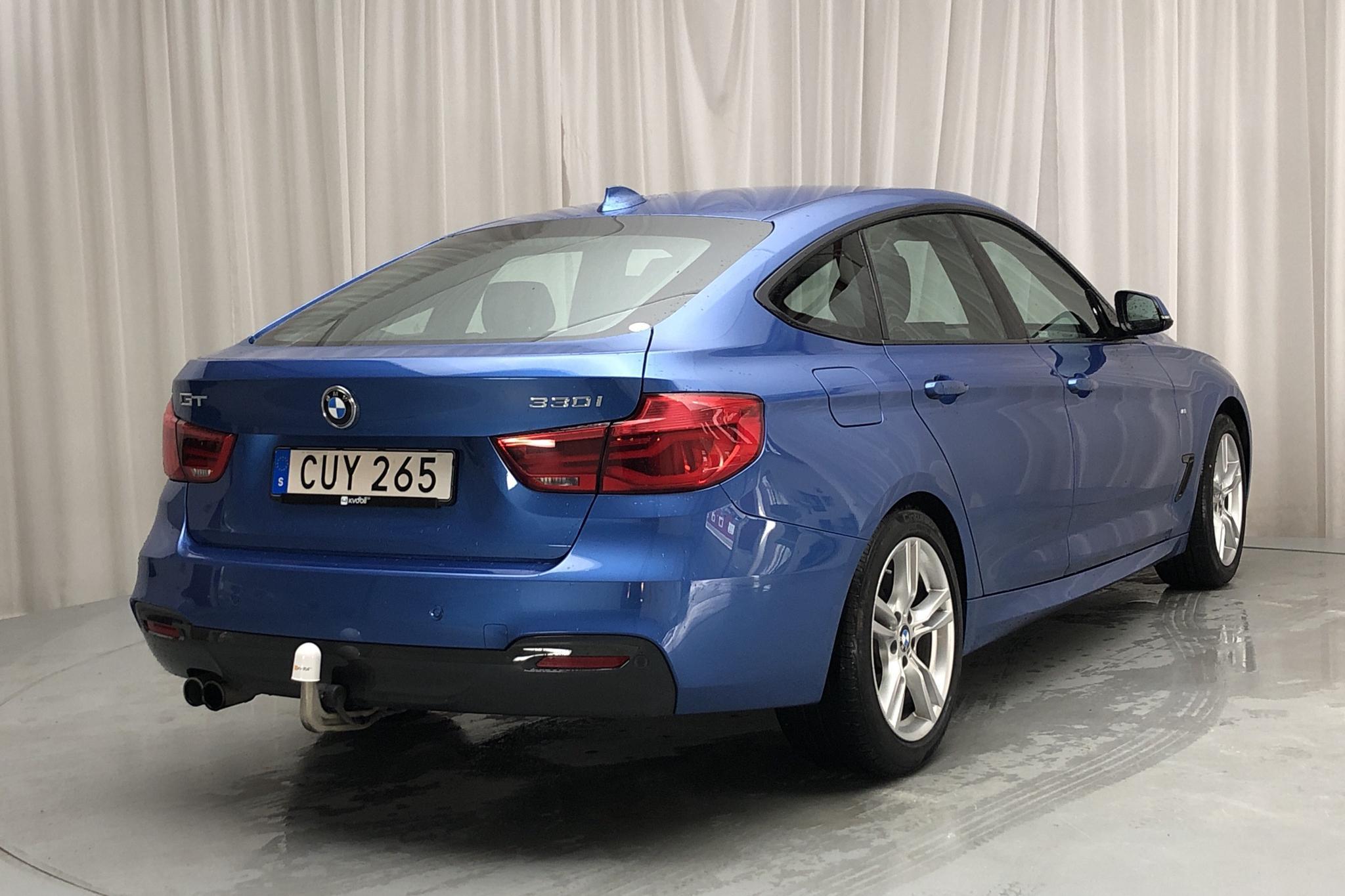 BMW 330i GT, F34 (252hk) - 5 009 mil - Automat - blå - 2018