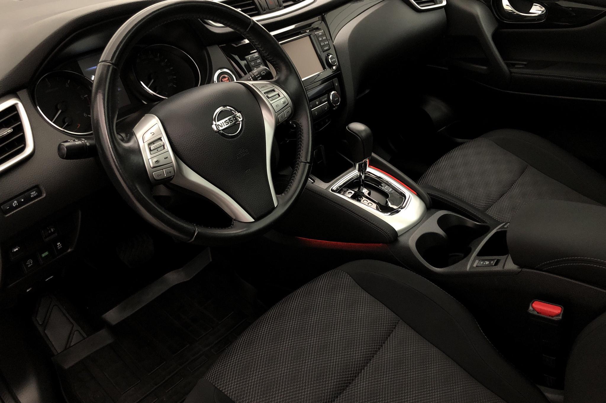 Nissan Qashqai 1.6 dCi (130hk) - 4 899 mil - Automat - svart - 2017