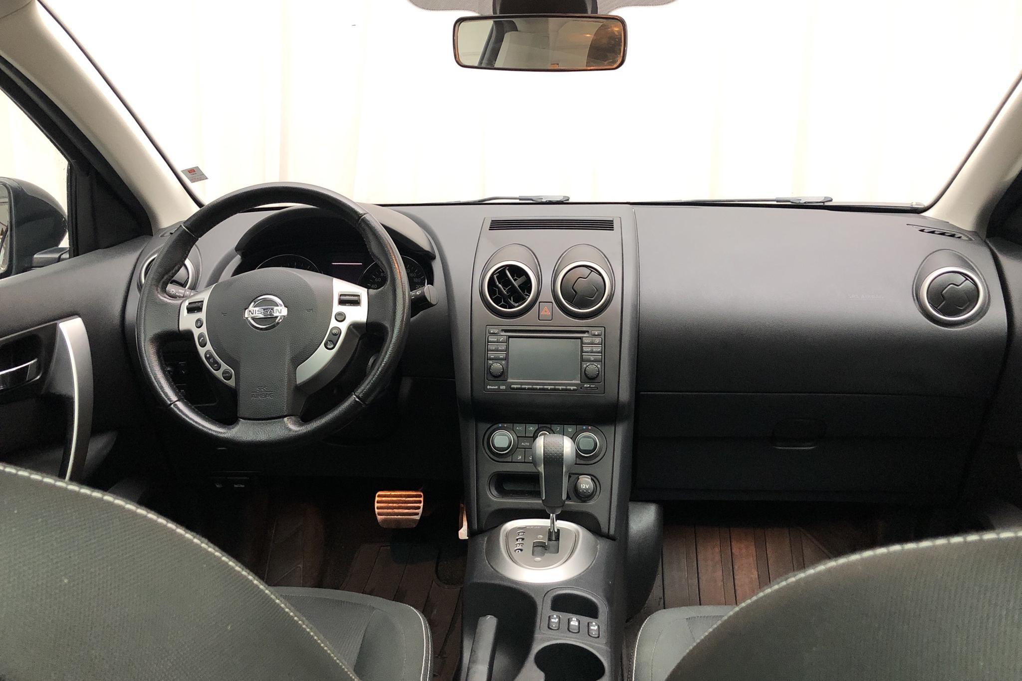 Nissan Qashqai 2.0 (140hk) - 17 239 mil - Automat - svart - 2012