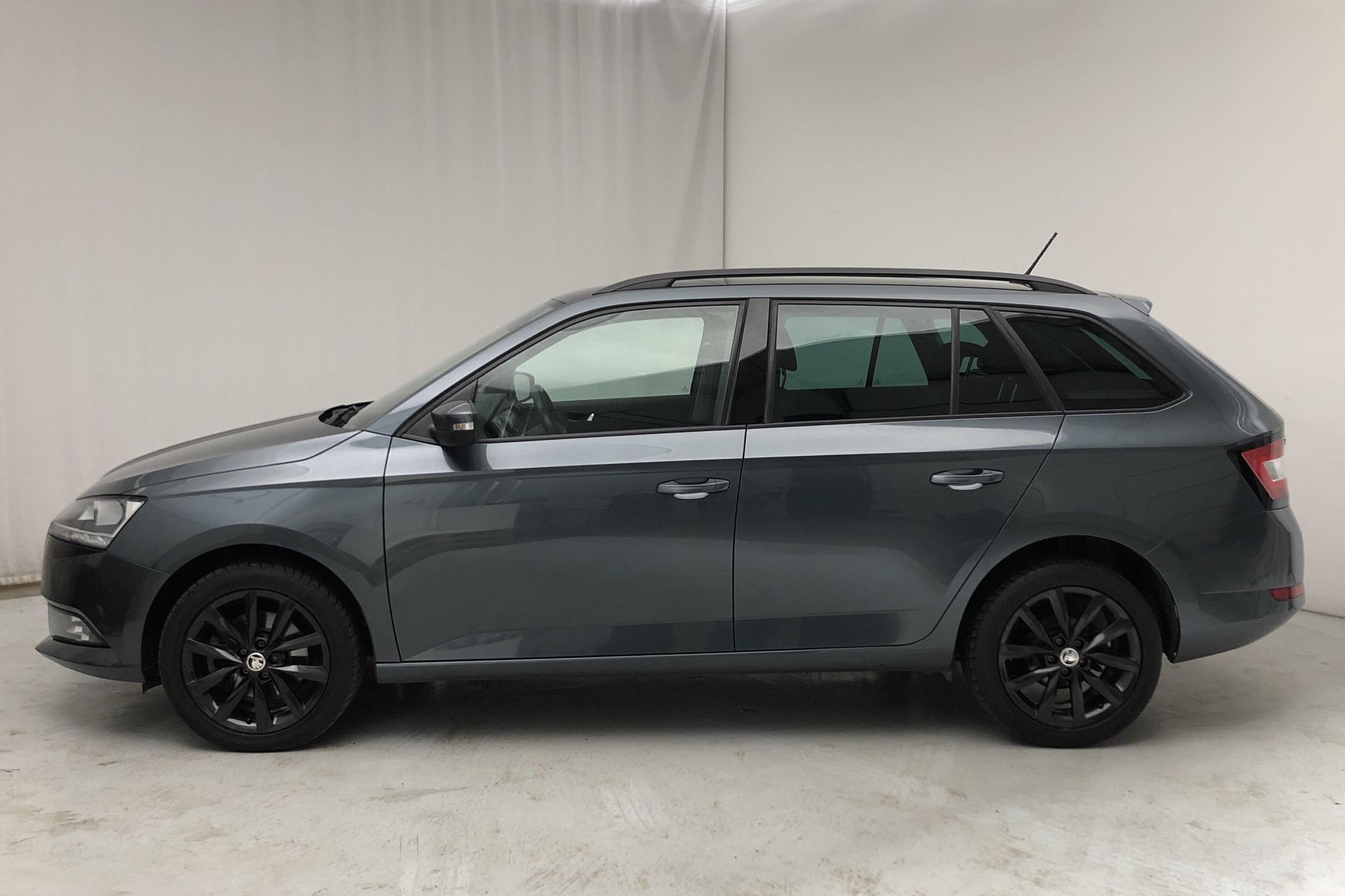 Skoda Fabia 1.0 TSI Kombi (110hk) - 47 660 km - Automatic - Dark Grey - 2019