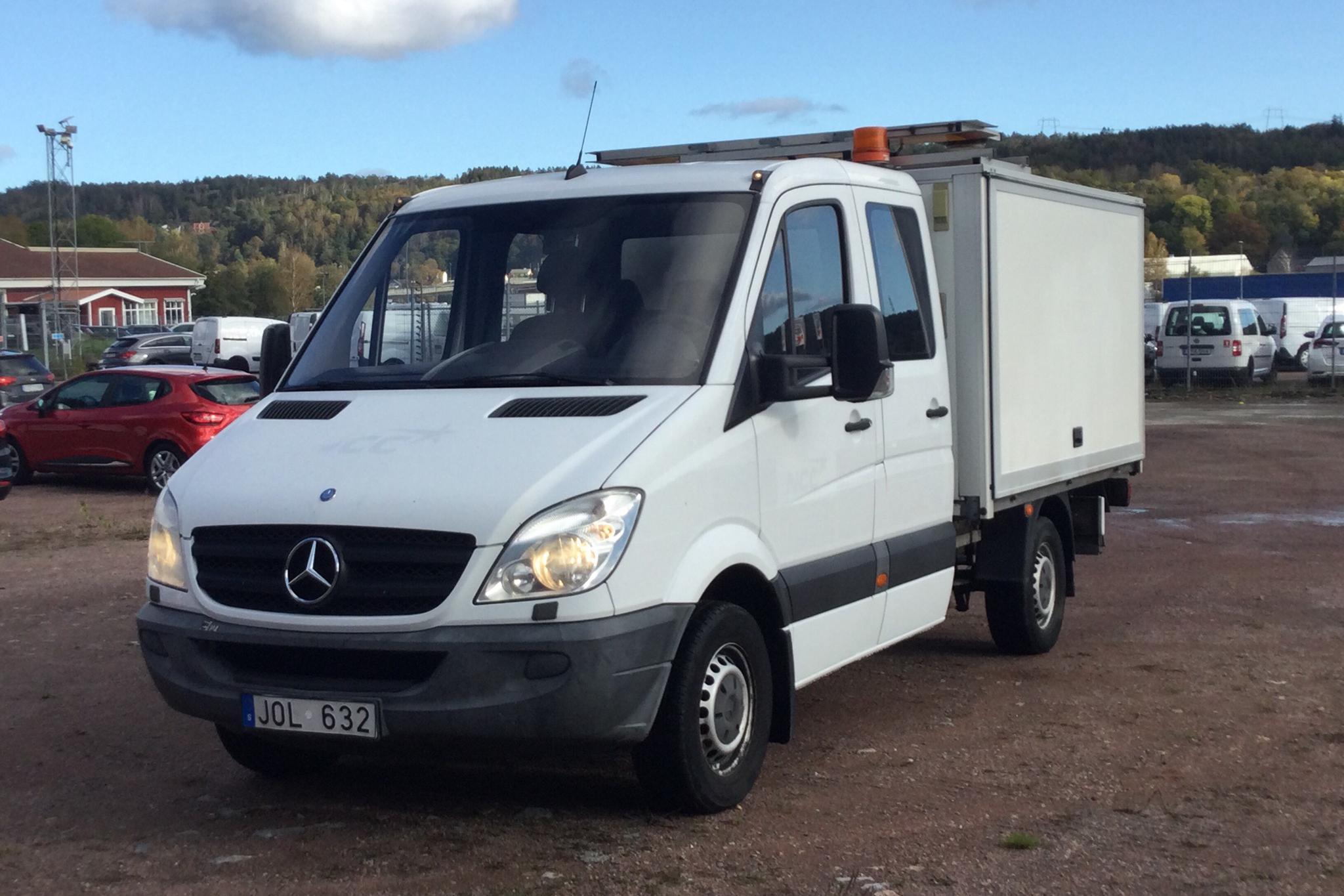 Mercedes Sprinter 316 CDI Pickup/Chassi (163hk) - 147 010 km - Automatic - 2012