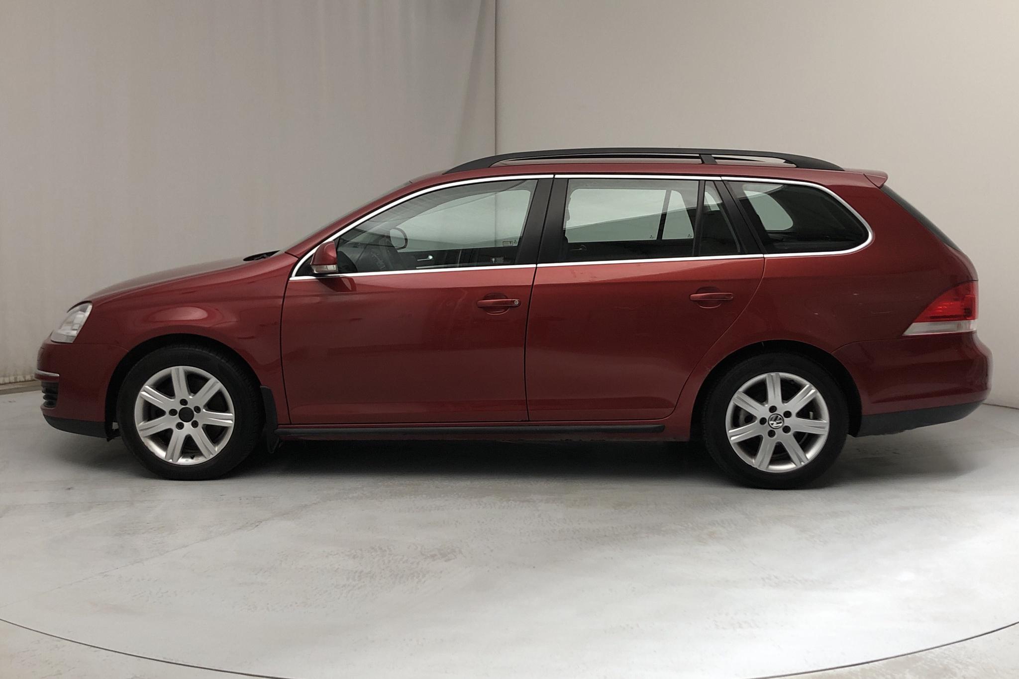 VW Golf A5 Variant 1.4 TSI (160hk) - 14 192 mil - Manuell - röd - 2009