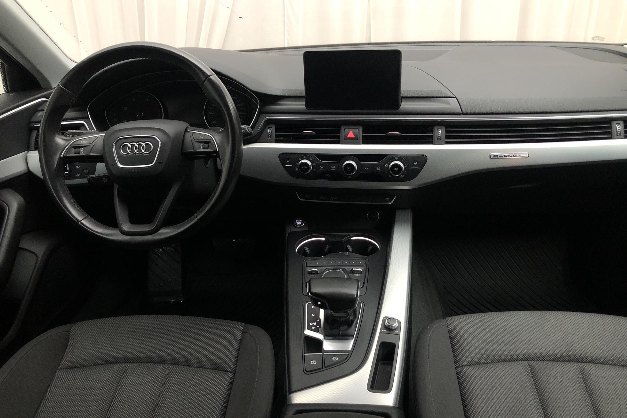 Audi A4 2.0 TDI Avant quattro (190hk) - 71 010 km - Automatic - red - 2016
