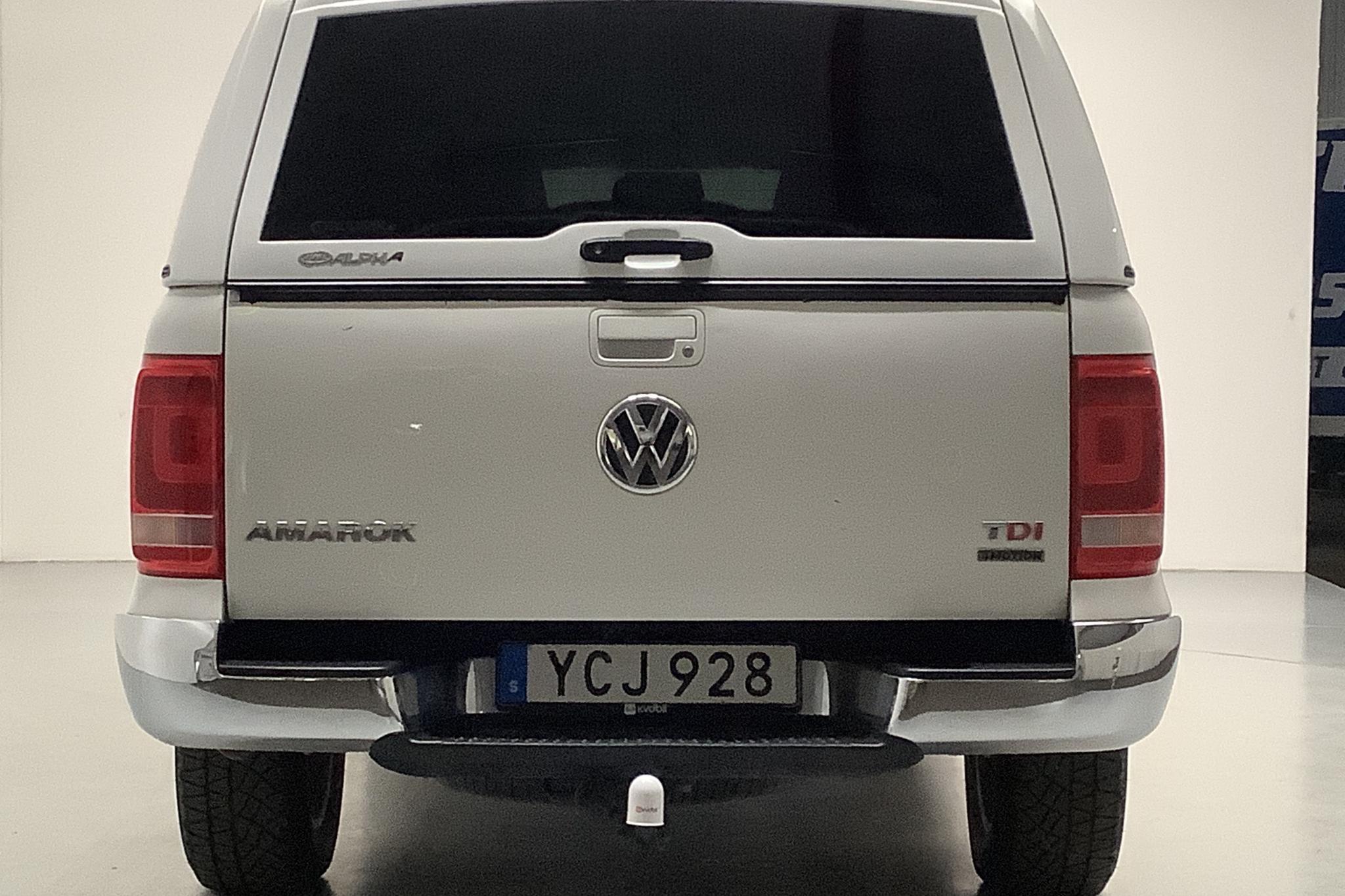 VW Amarok 2.0 TDI 4motion (180hk) - 131 970 km - Automatic - white - 2016