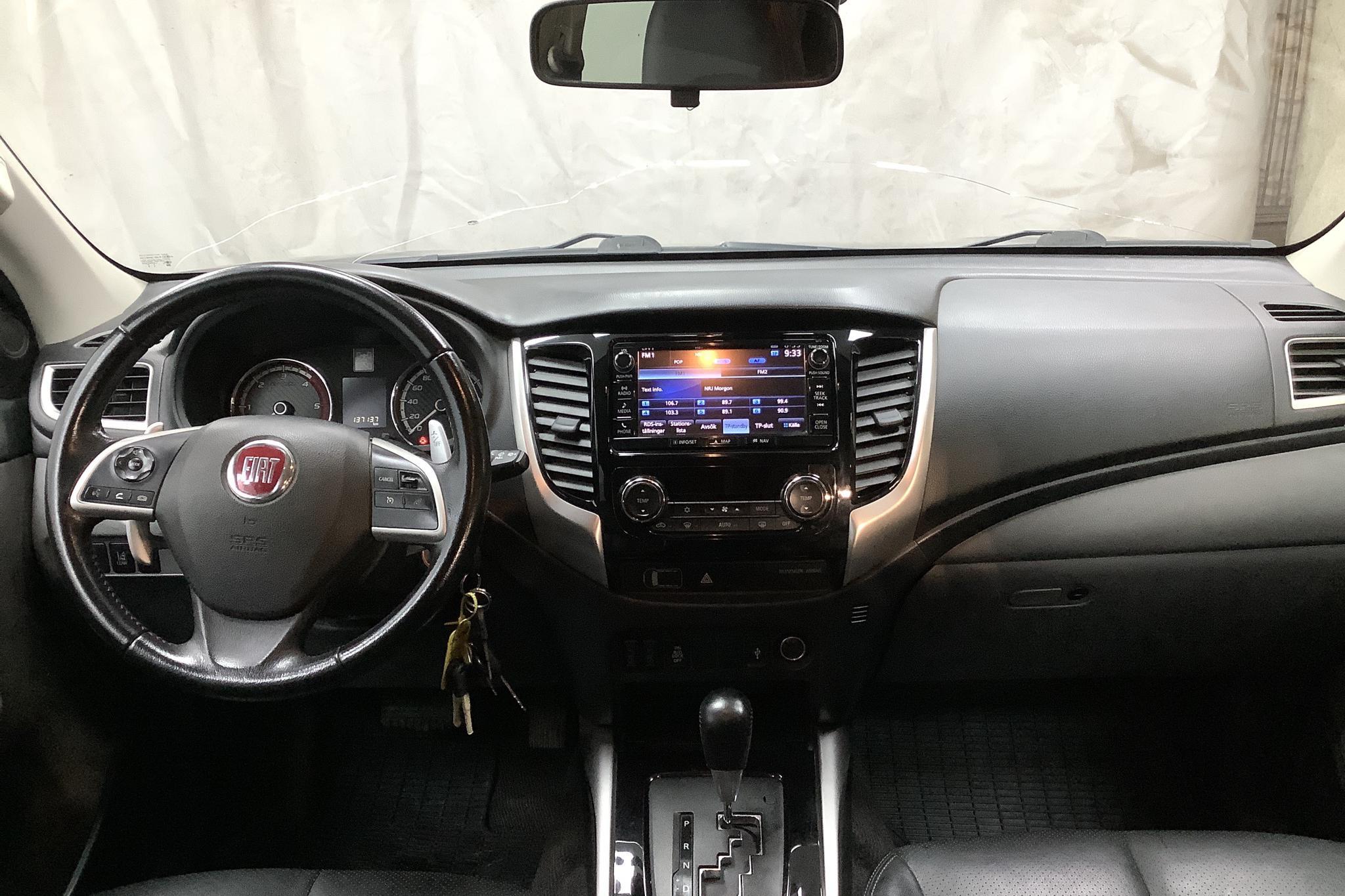 Fiat Fullback 2.4 4x4 (180hk) - 13 714 mil - Automat - svart - 2017