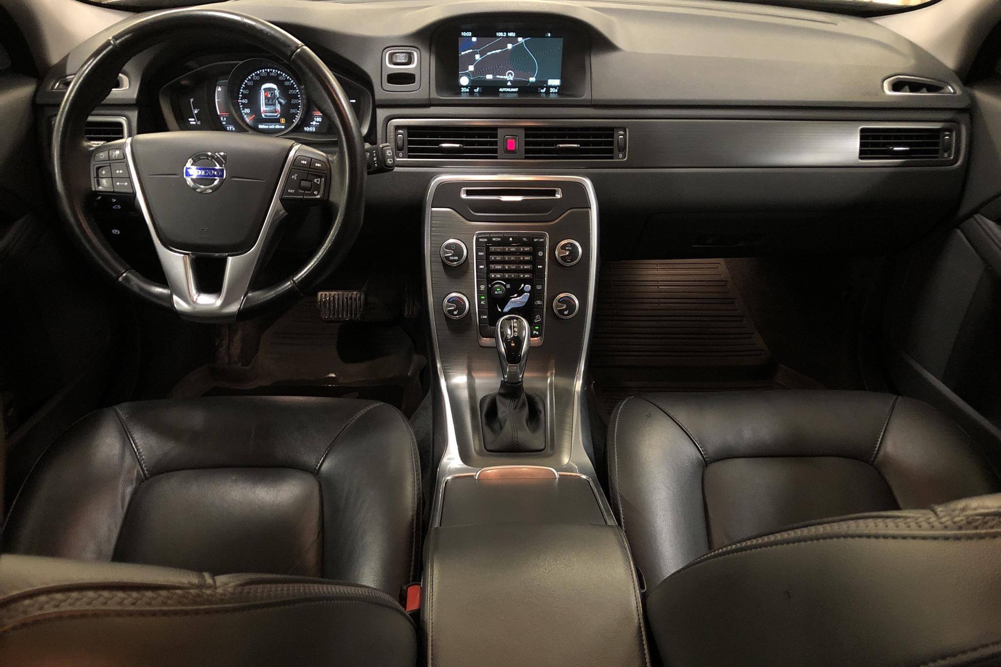 Volvo XC70 II D4 AWD (181hk) - 77 500 km - Automatic - silver - 2016