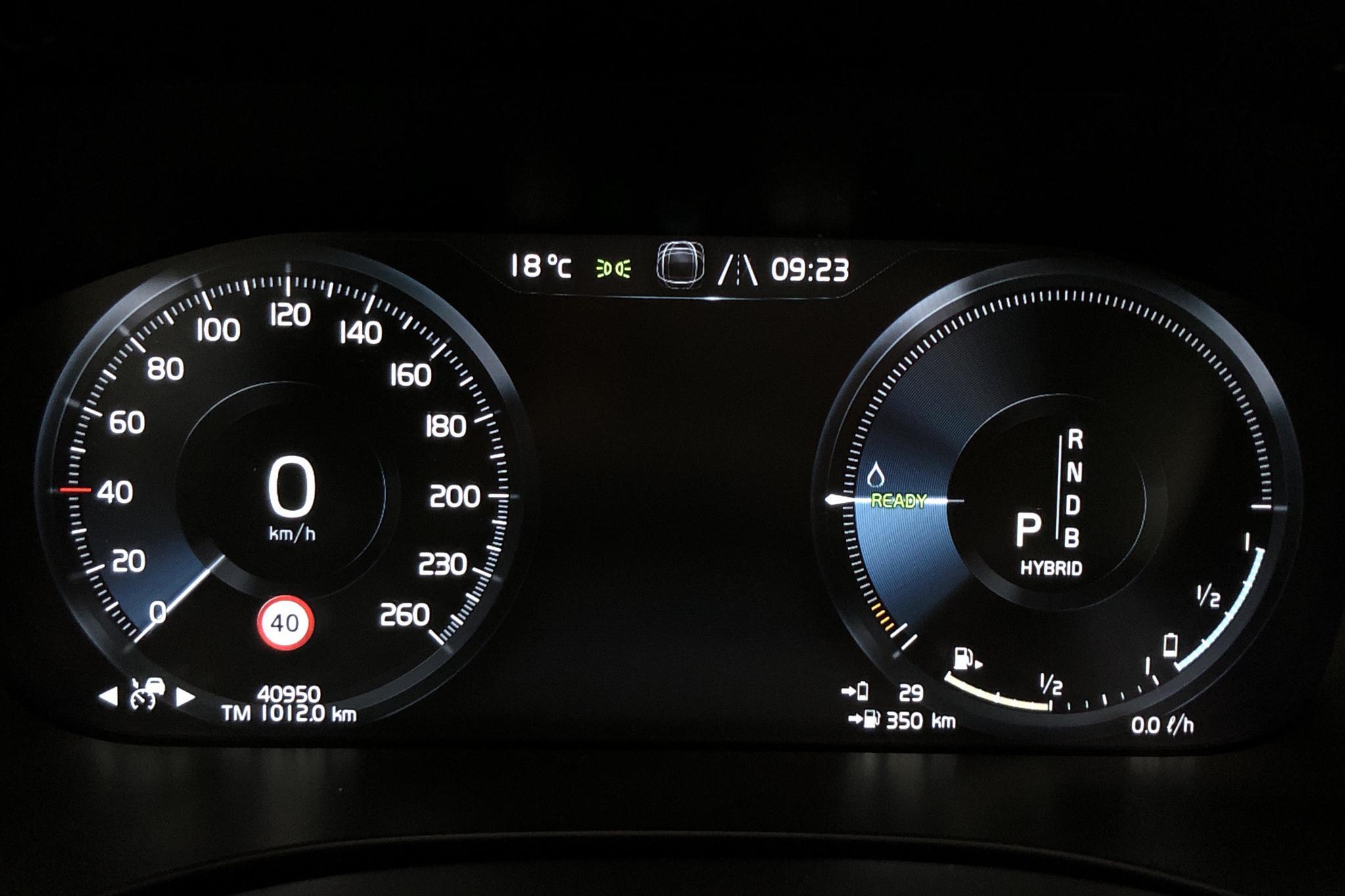 Volvo XC60 T8 AWD Twin Engine (390hk) - 40 950 km - Automatic - black - 2019