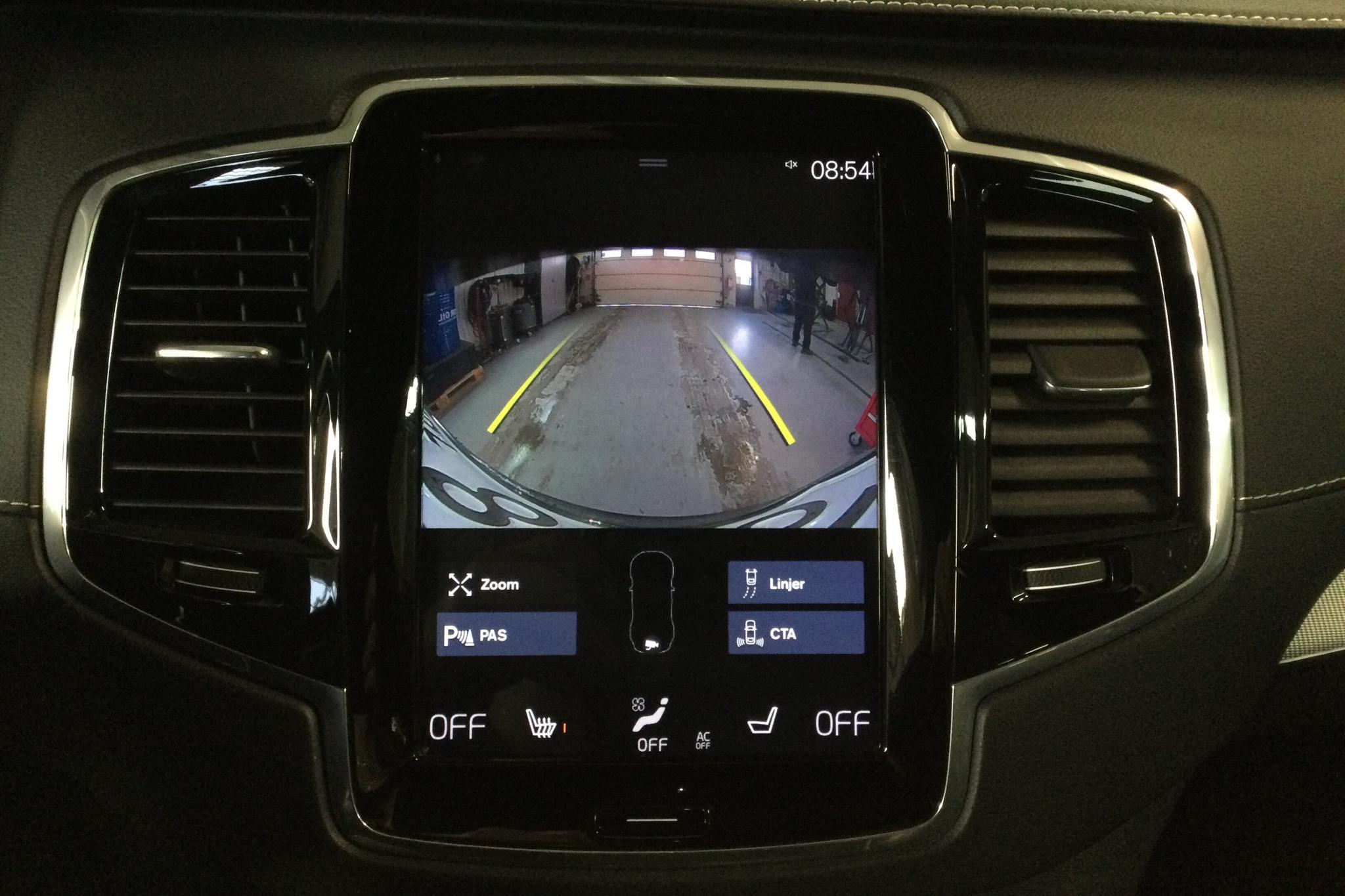 Volvo XC90 T6 AWD (310hk) - 6 123 mil - Automat - svart - 2019
