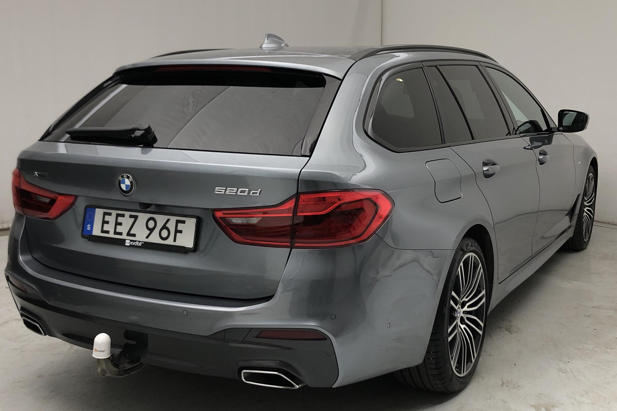 BMW 520d xDrive Touring MHEV, G31 (190hk) - 2 212 mil - Automat - blå - 2020