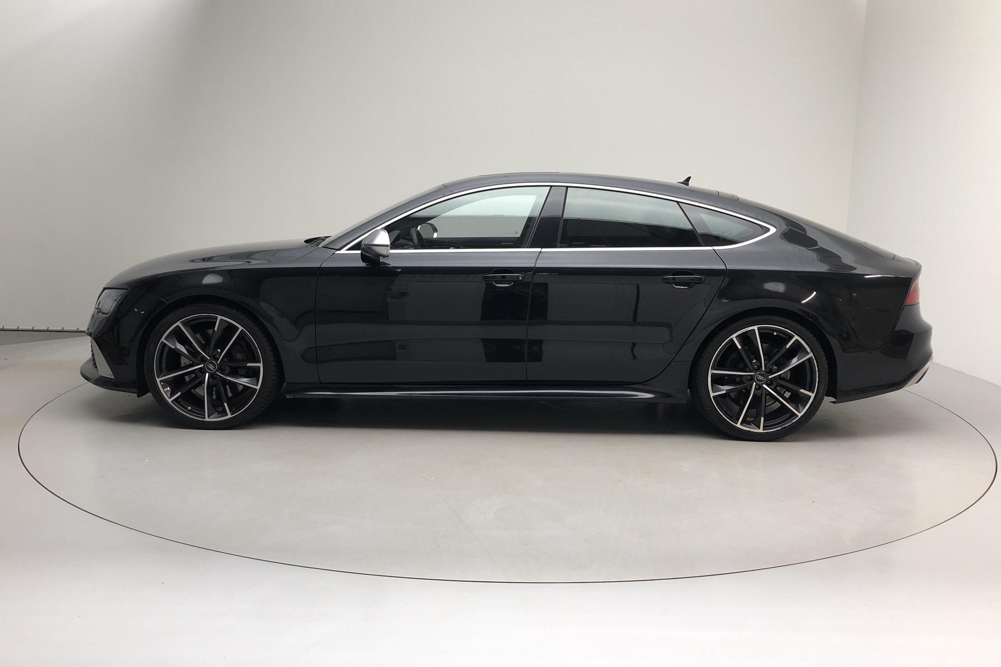 Audi RS7 4.2 TFSI (560hk) - 86 800 km - Automatic - black - 2014