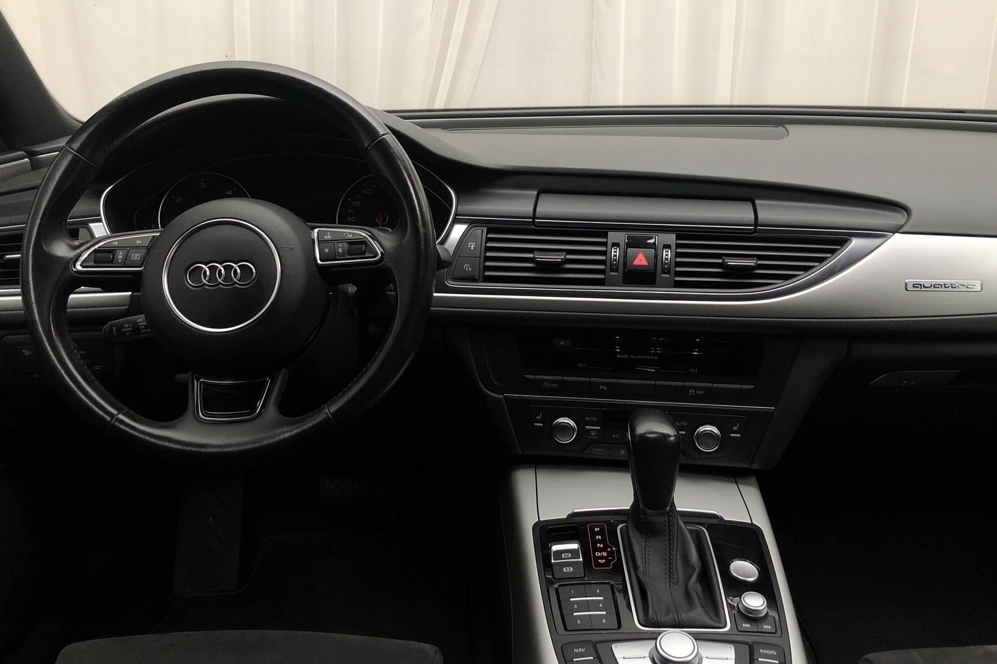 Audi A6 2.0 TDI Avant quattro (190hk) - 161 650 km - Automatic - black - 2017