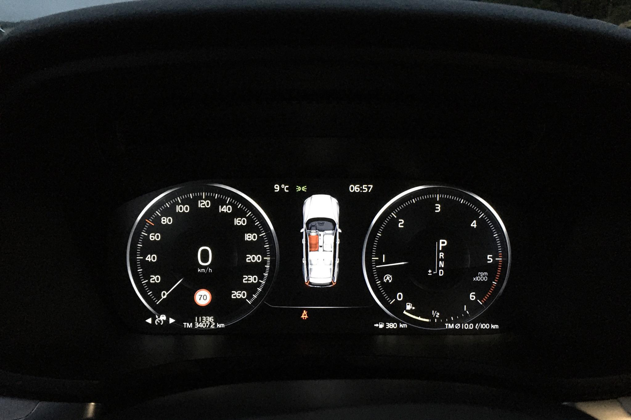 Volvo V60 D4 Cross Country AWD (190hk) - 11 330 km - Automatic - white - 2020