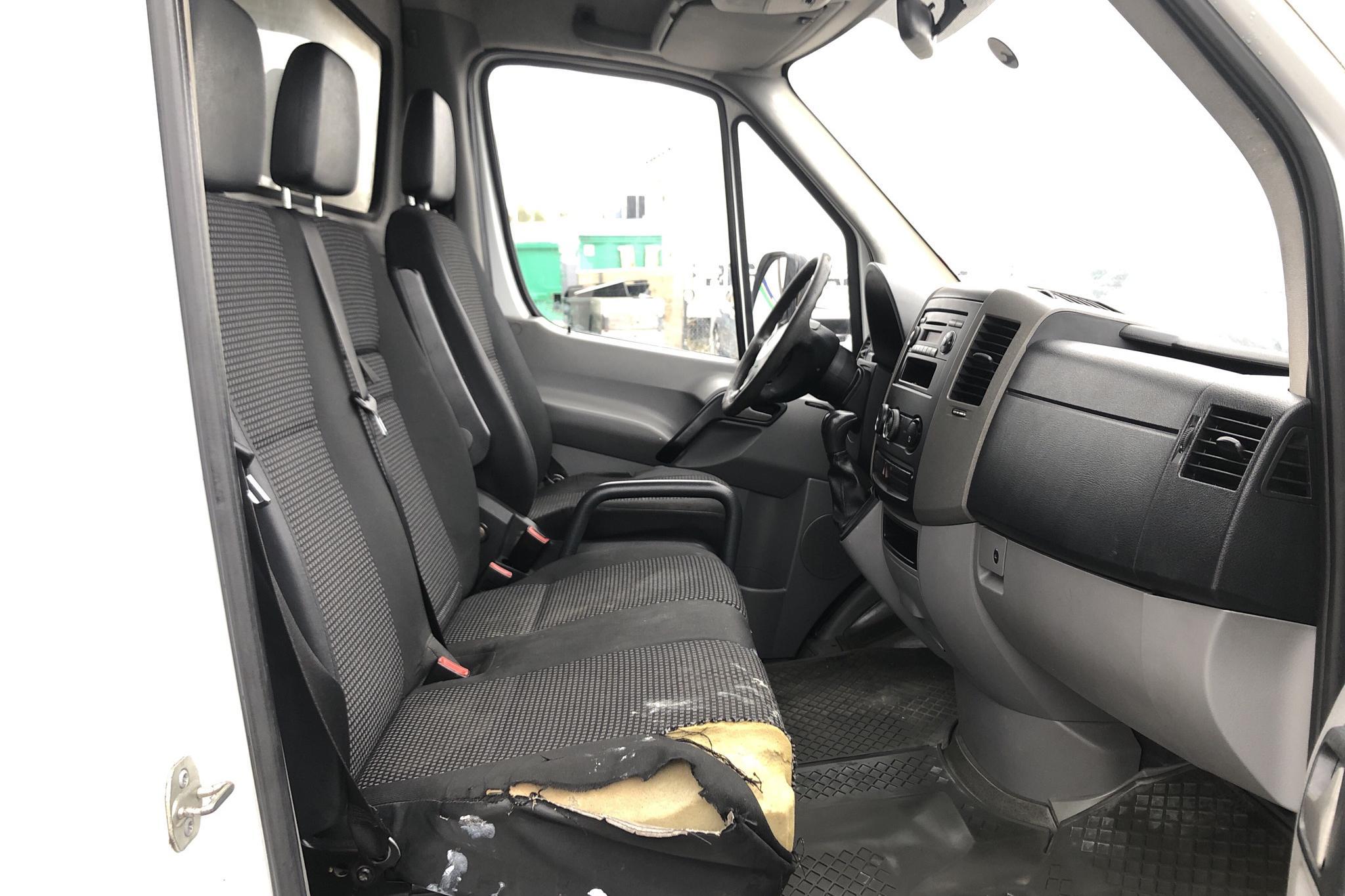 Mercedes Sprinter 315 CDI Volymskåp (150hk) - 36 252 mil - Automat - vit - 2008