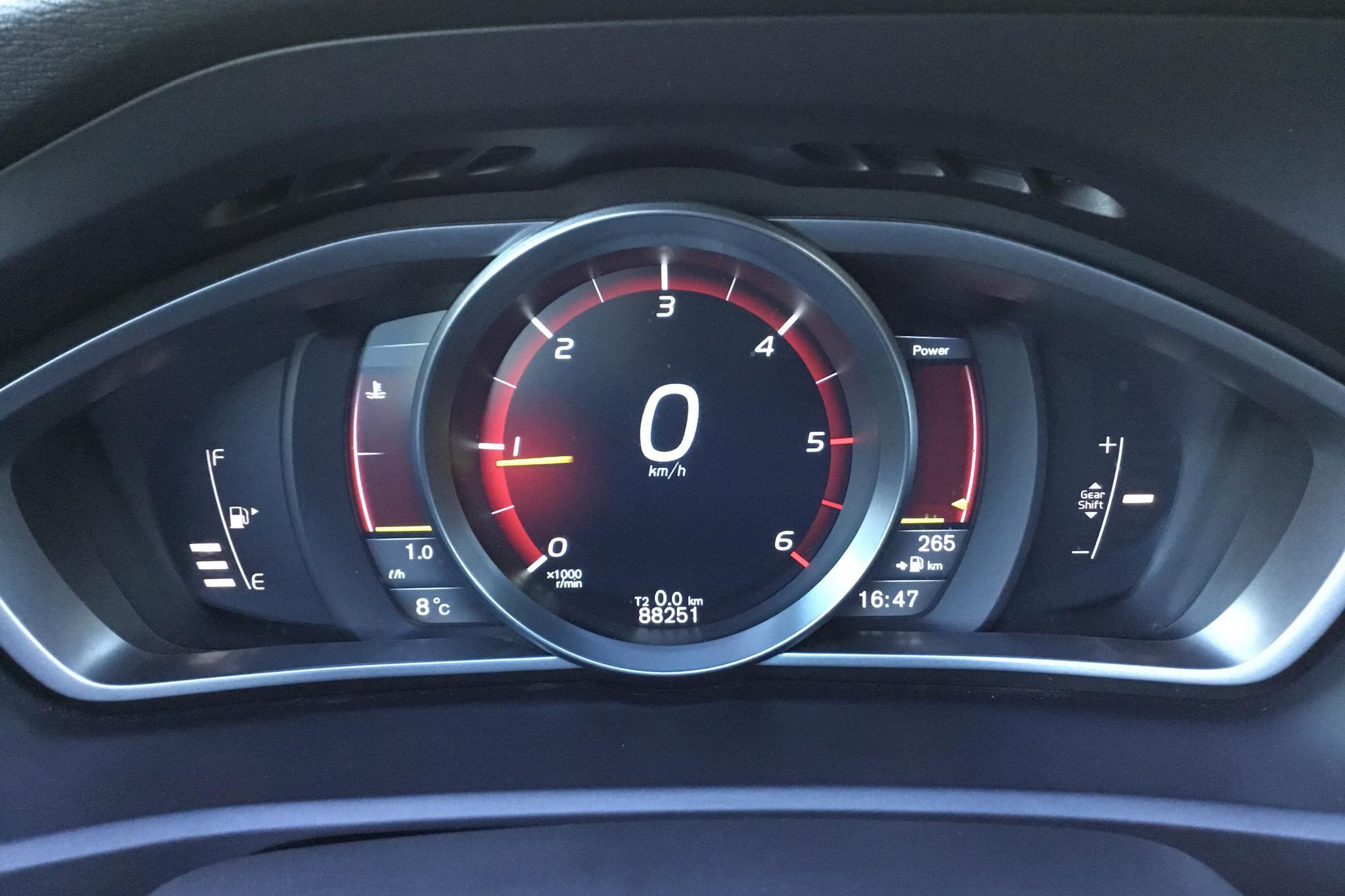 Volvo V40 D2 (115hk) - 8 825 mil - Manuell - Light Grey - 2013