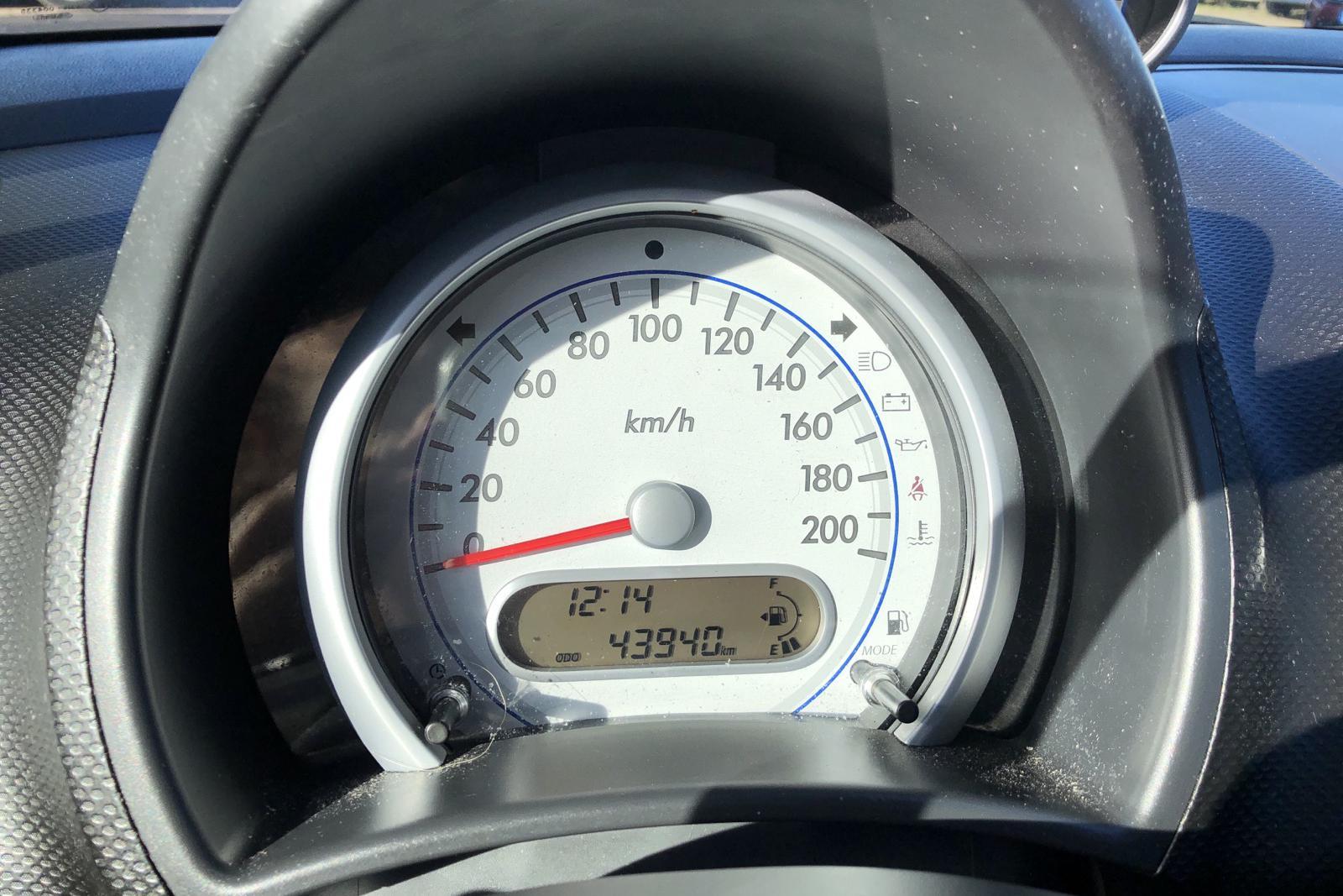 Suzuki Splash 1.0 (65hk) - 4 394 mil - Manuell - röd - 2010