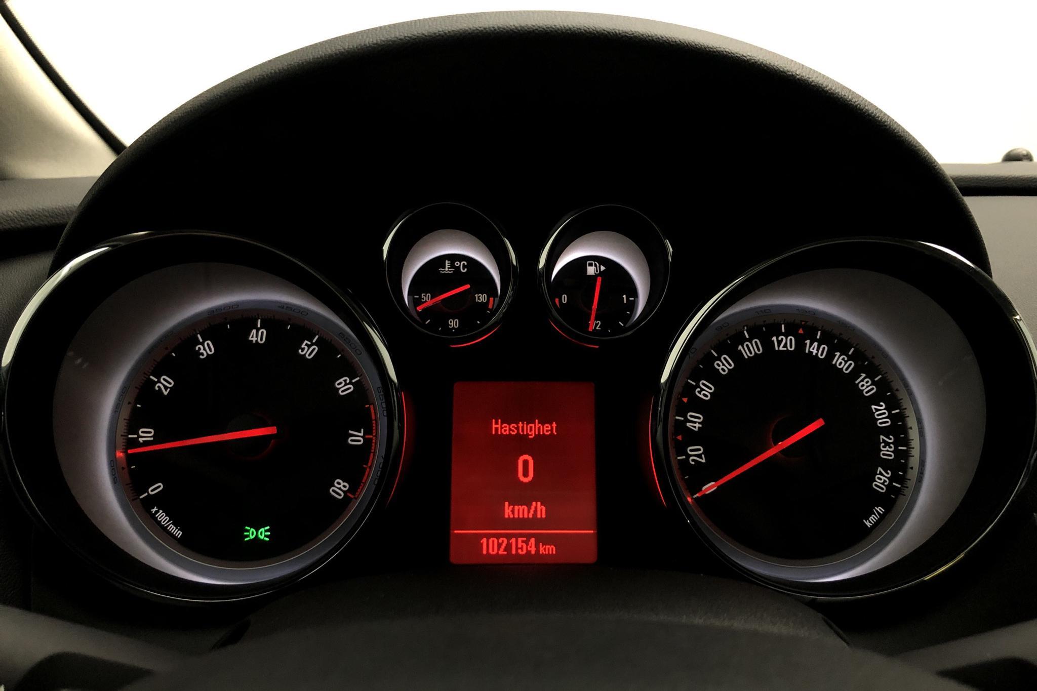 Opel Astra 1.6 ECOTEC 5dr (115hk) - 10 215 mil - Manuell - brun - 2014