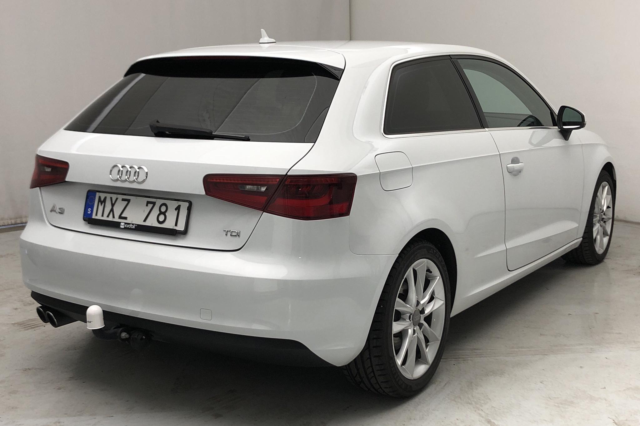 Audi A3 2.0 TDI (150hk) - 11 289 mil - Manuell - vit - 2013