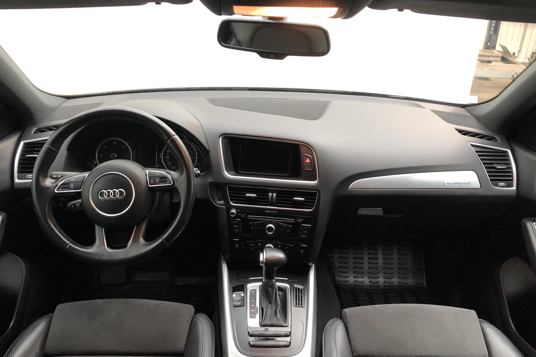 Audi Q5 2.0 TDI quattro (177hk) - 14 023 mil - Automat - grå - 2014