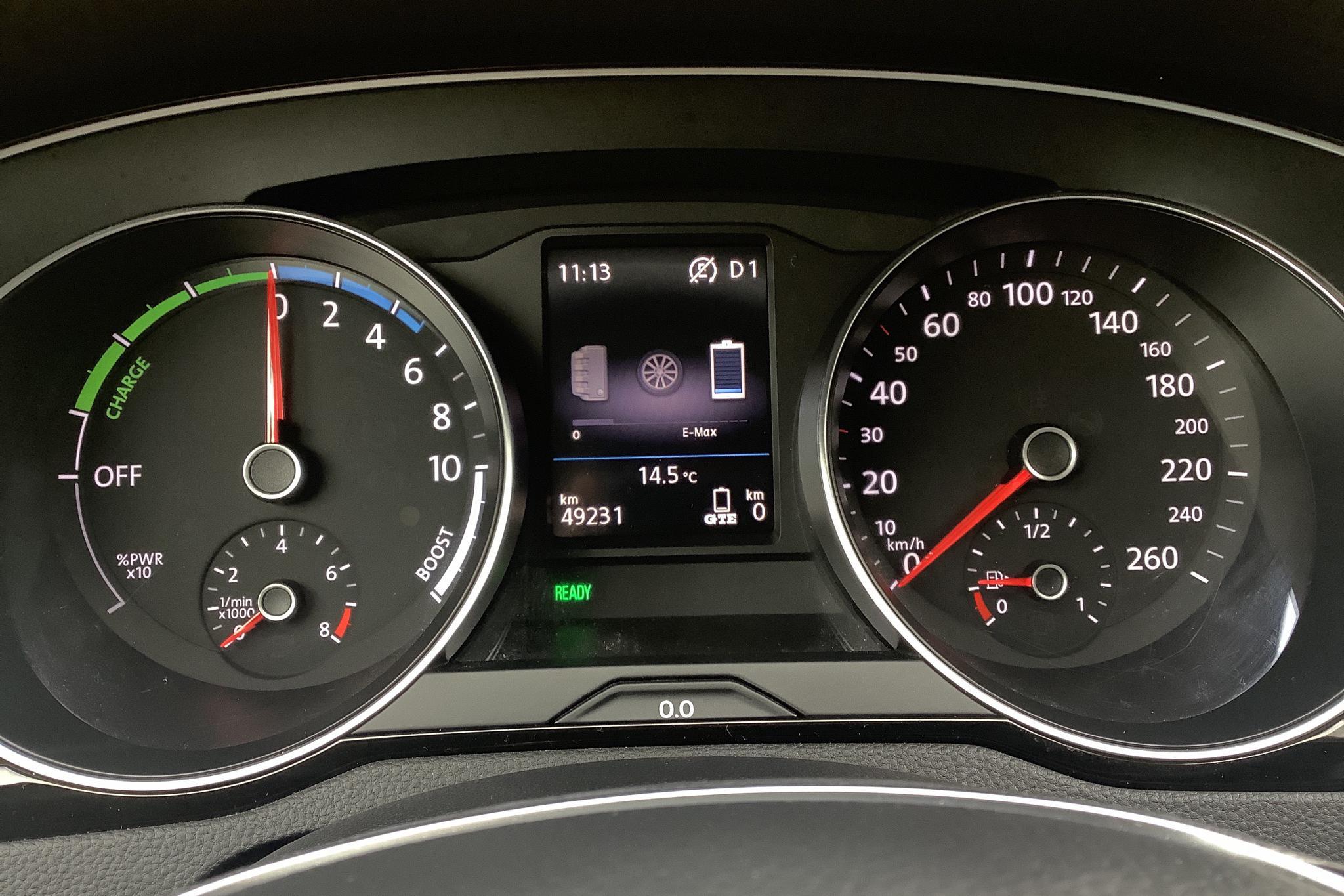 VW Passat 1.4 Plug-in-Hybrid Sportscombi (218hk) - 49 230 km - Automatic - black - 2018