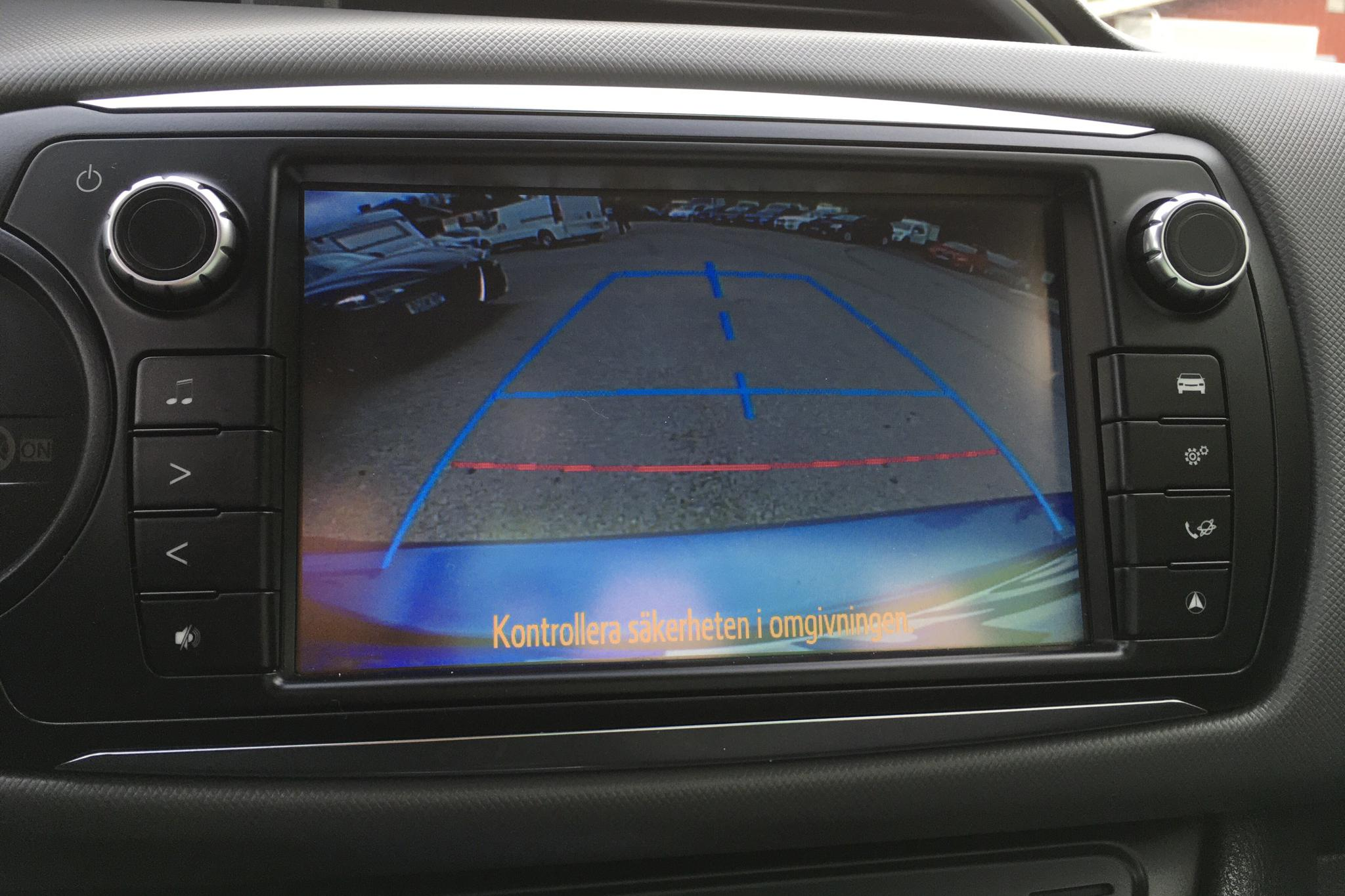 Toyota Yaris 1.5 HSD 5dr (75hk) - 4 901 mil - Automat - blå - 2016