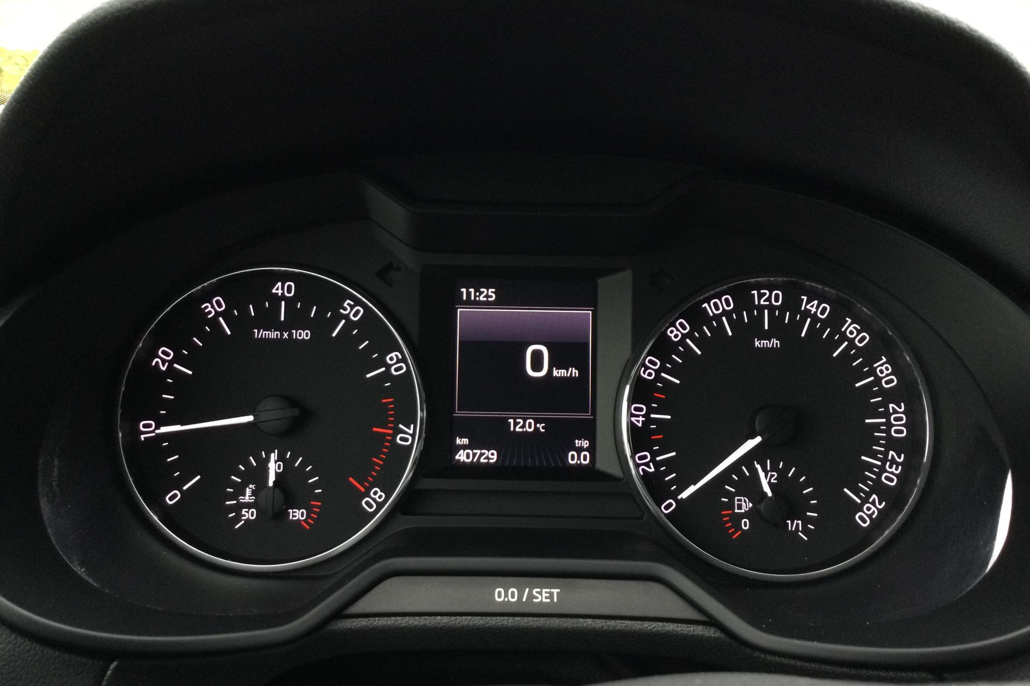 Skoda Octavia III 1.0 TSI Combi (115hk) - 4 073 mil - Manuell - vit - 2017