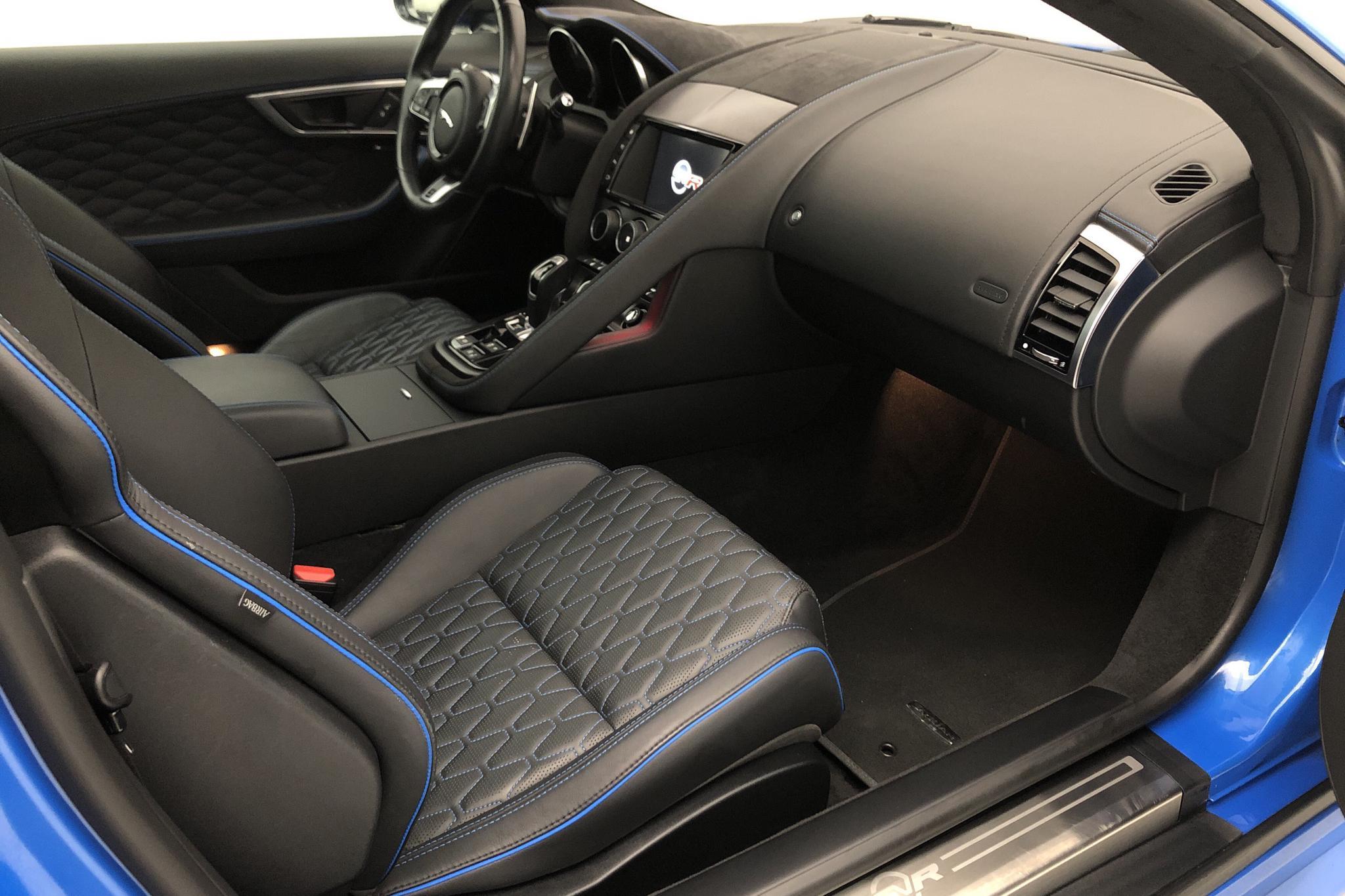 Jaguar F-Type 5.0 S/C V8 SVR AWD Coupé (575hk) - 29 430 km - Automatic - blue - 2018