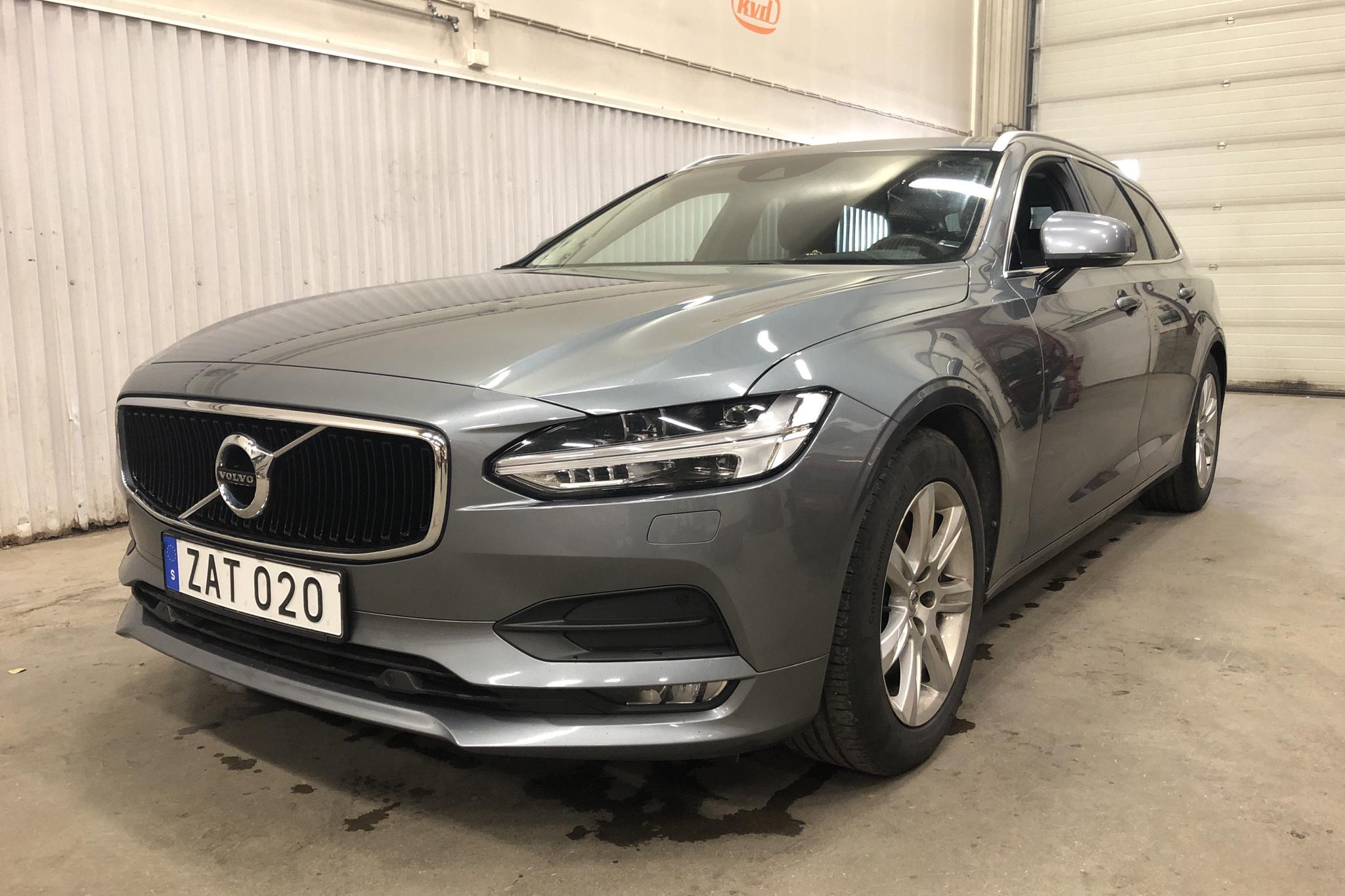 Volvo V90 D4 AWD (190hk) - 17 501 mil - Automat - grå - 2018