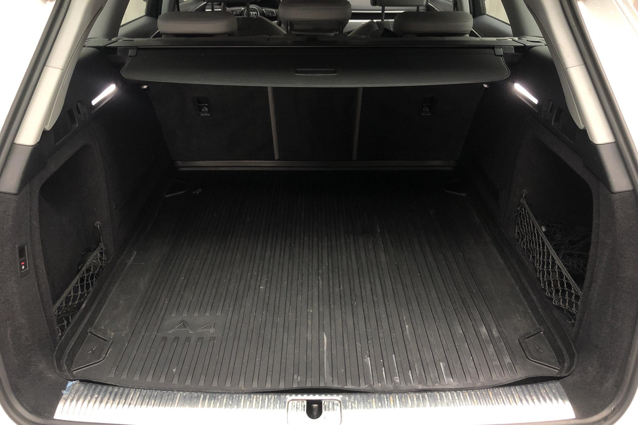 Audi A4 Avant 40 TDI quattro (190hk) - 44 400 km - Automatic - white - 2019