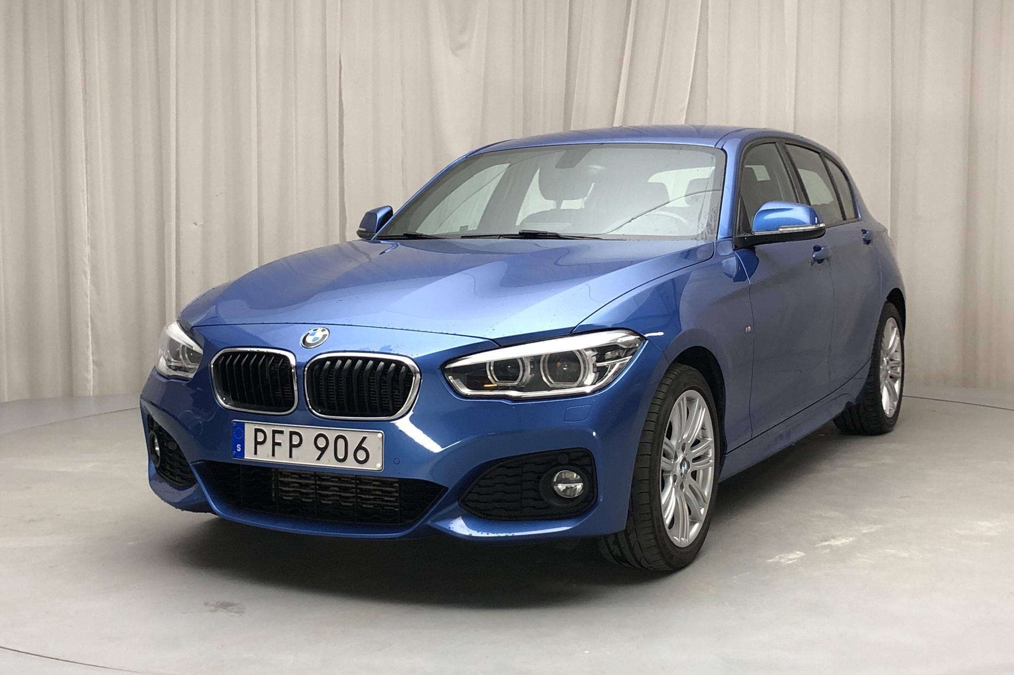 BMW 120d xDrive 5dr, F20 (190hk) - 7 323 mil - Automat - blå - 2017