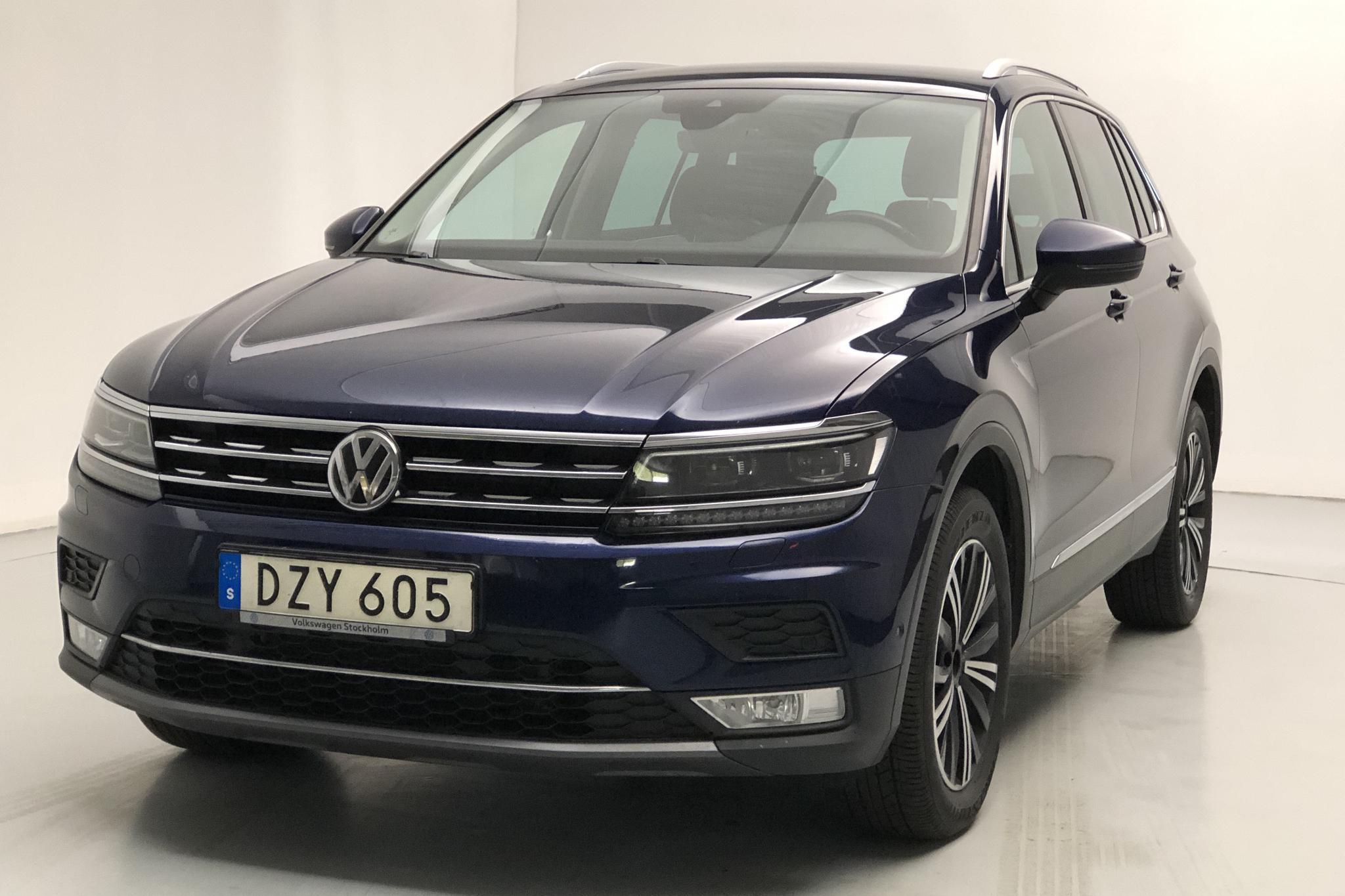 VW Tiguan 2.0 TDI 4MOTION (190hk) - 10 702 mil - Automat - Dark Blue - 2017