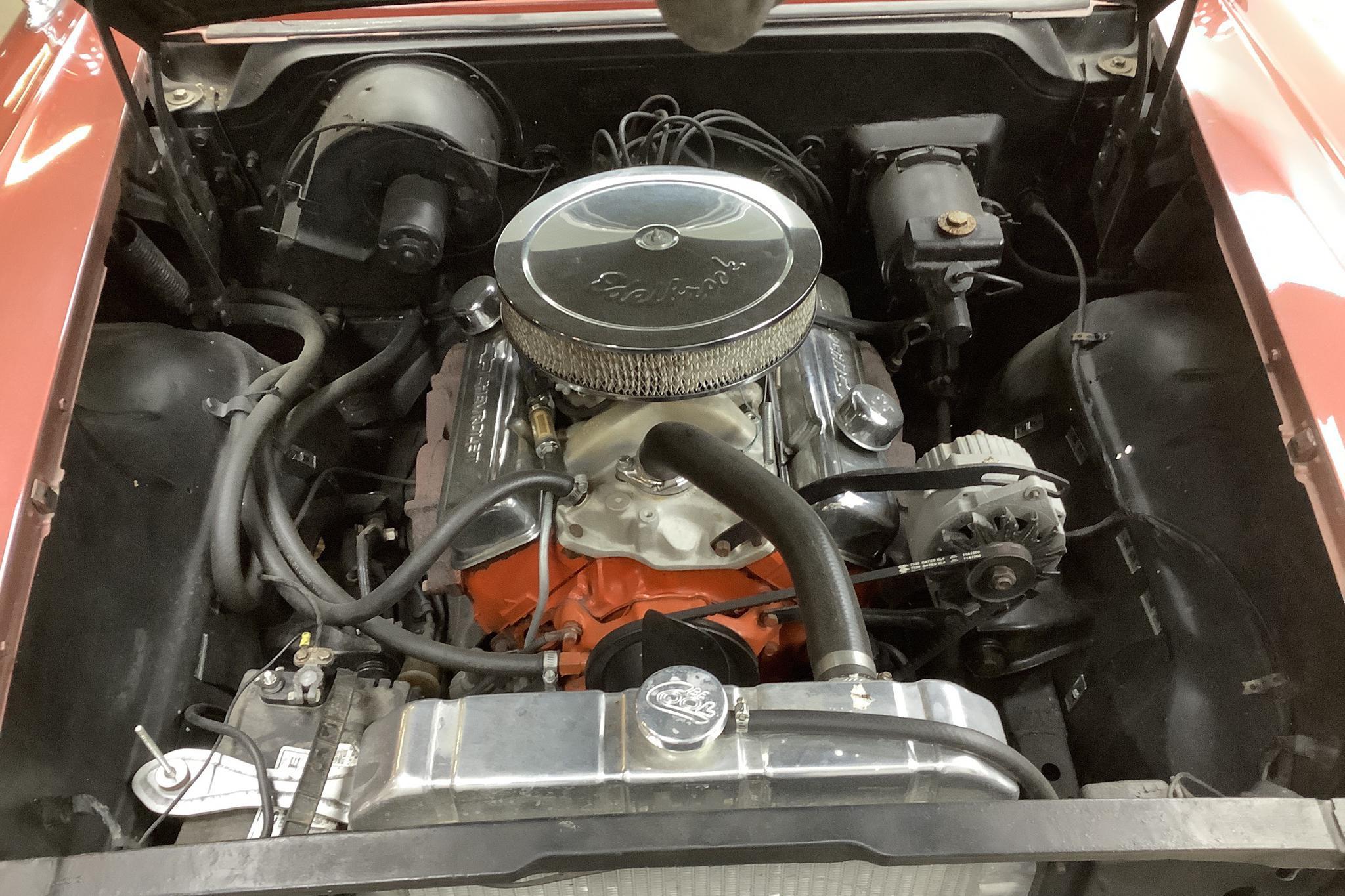 Chevrolet Bel Air 283 ci 4-door (250hk) - 6 999 mil - Automat - Dark Red - 1958