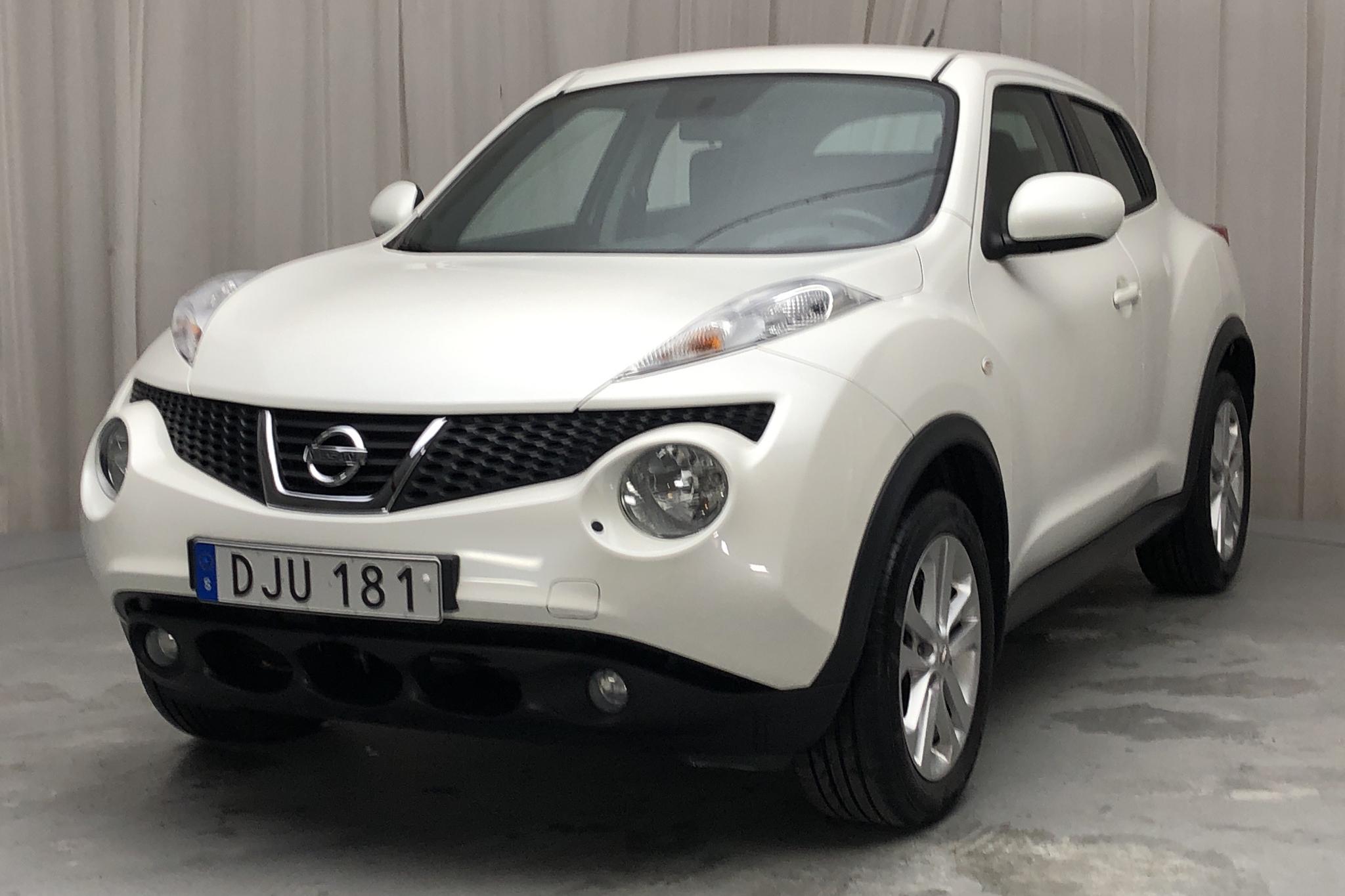 Nissan Juke 1.6 (117hk) - 7 895 mil - Automat - vit - 2014